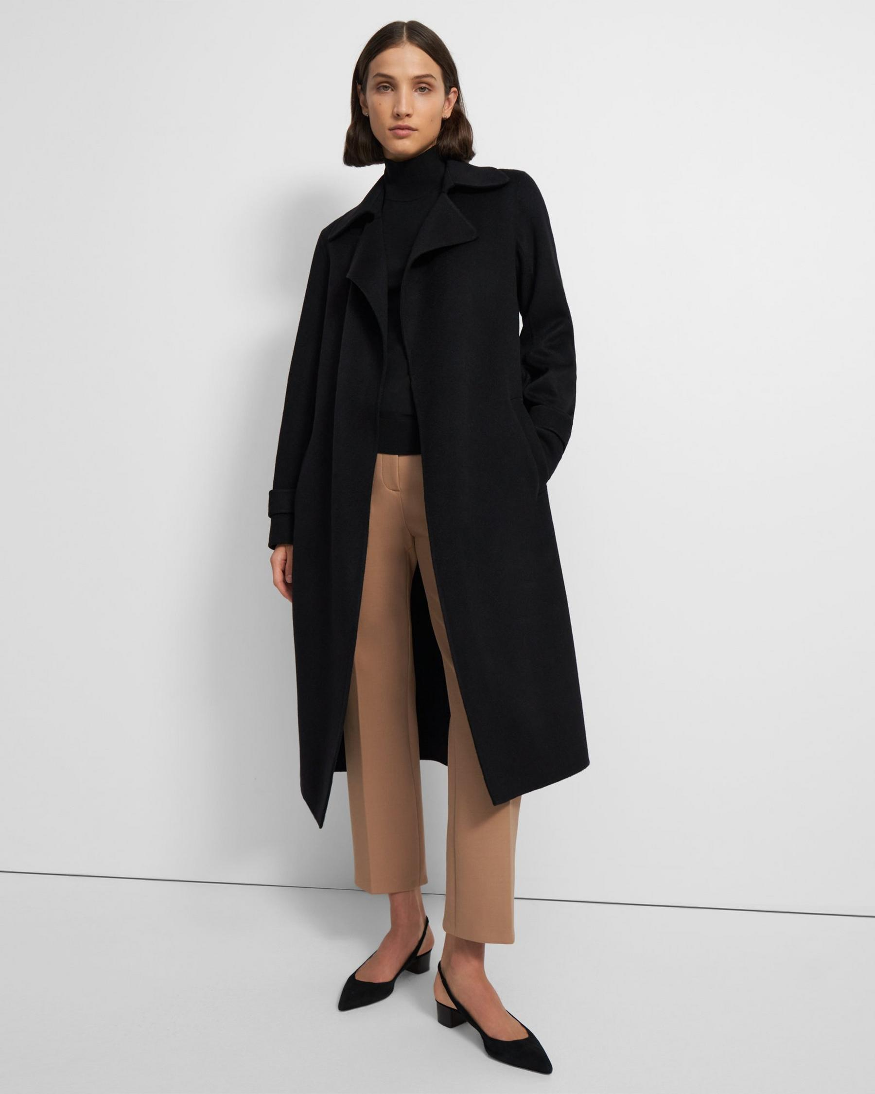 Long Oaklane Trench Coat in Cashmere