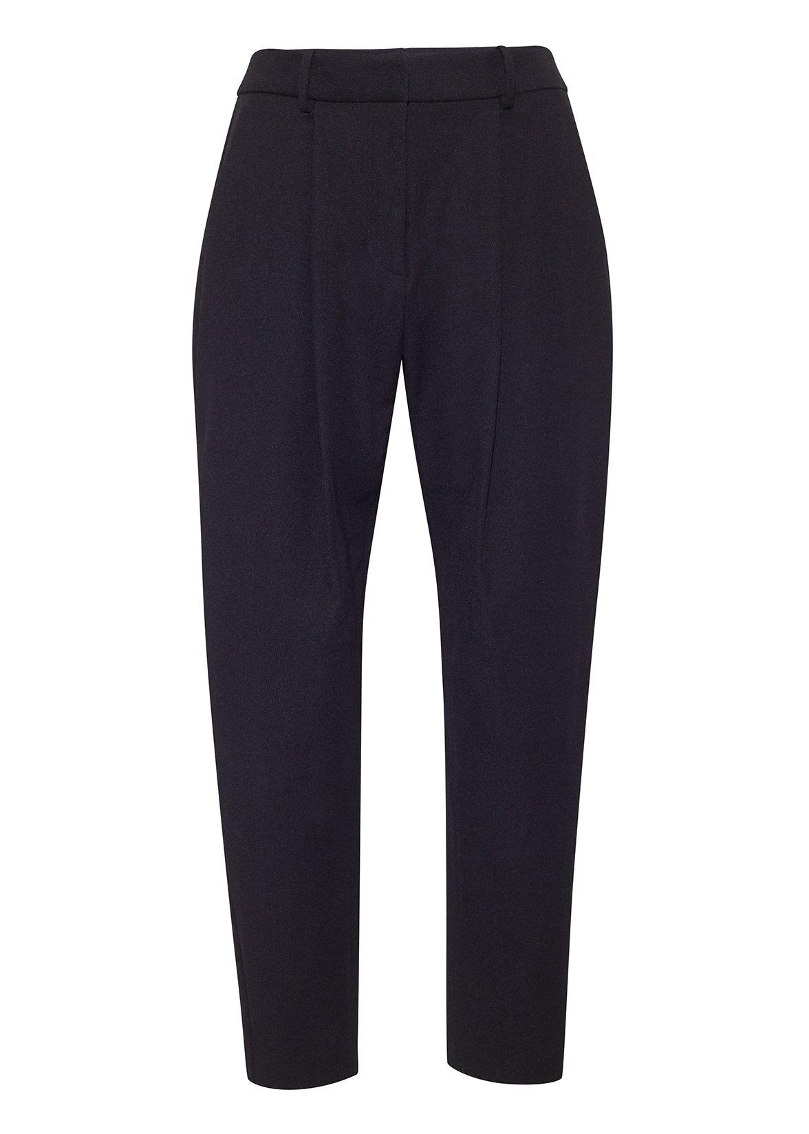 TAPERED PANT IN SUPER FINE WOOL 1