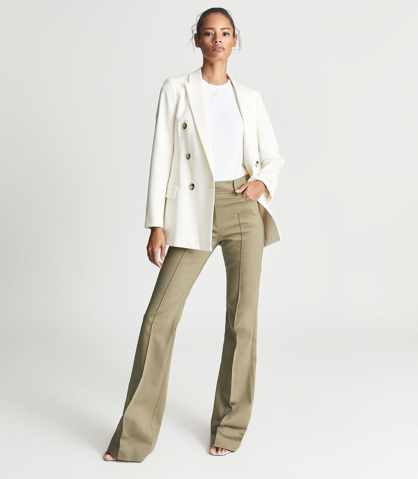 FLORENCE - HIGH RISE FLARED TROUSERS