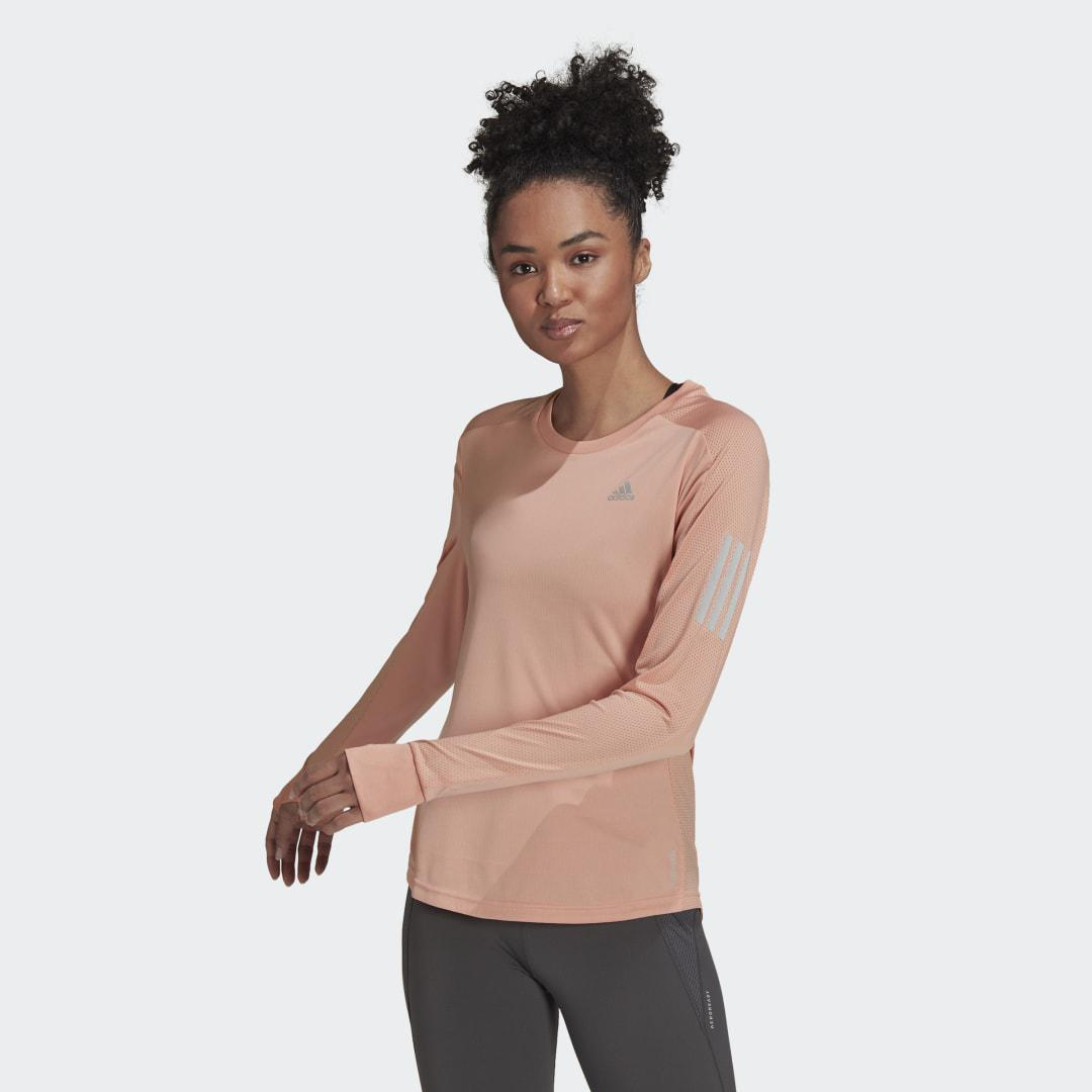 Own the Run Long Sleeve Tee Ambient Blush