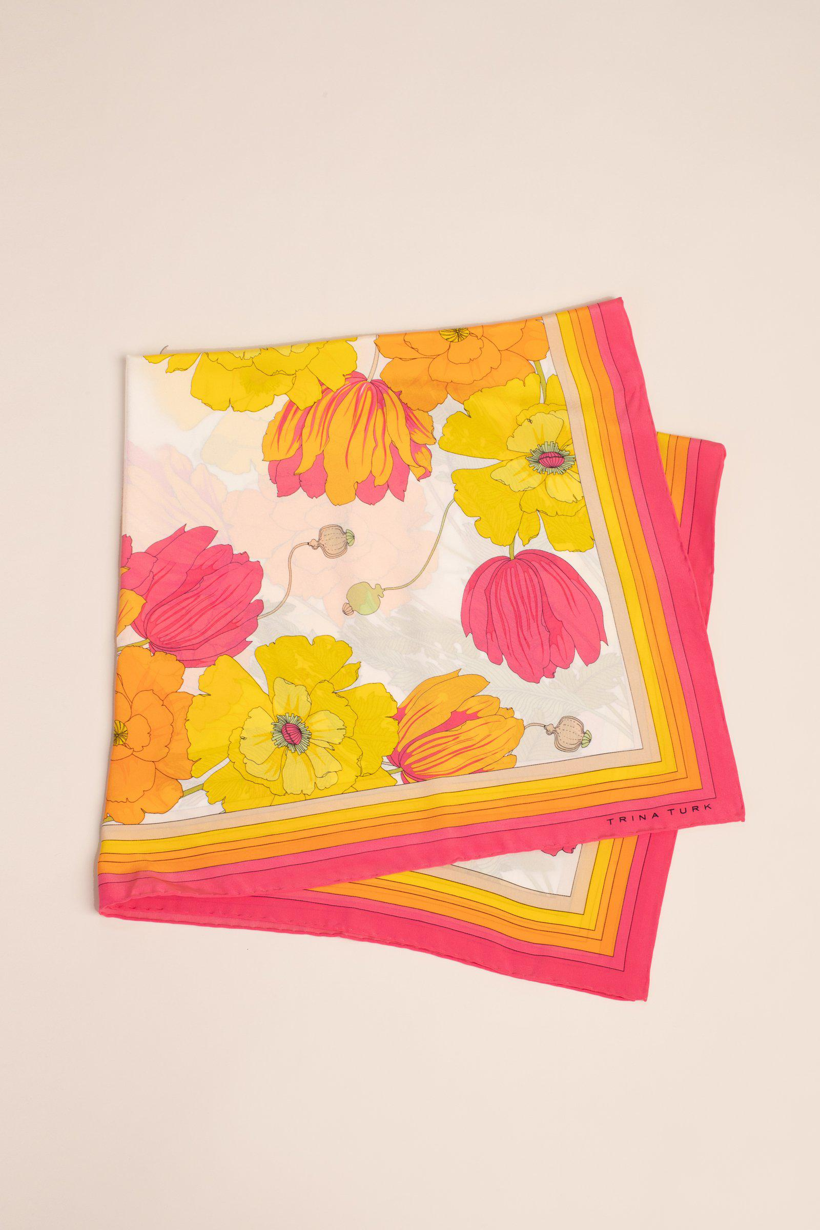 SUNNY BLOOMS SCARF