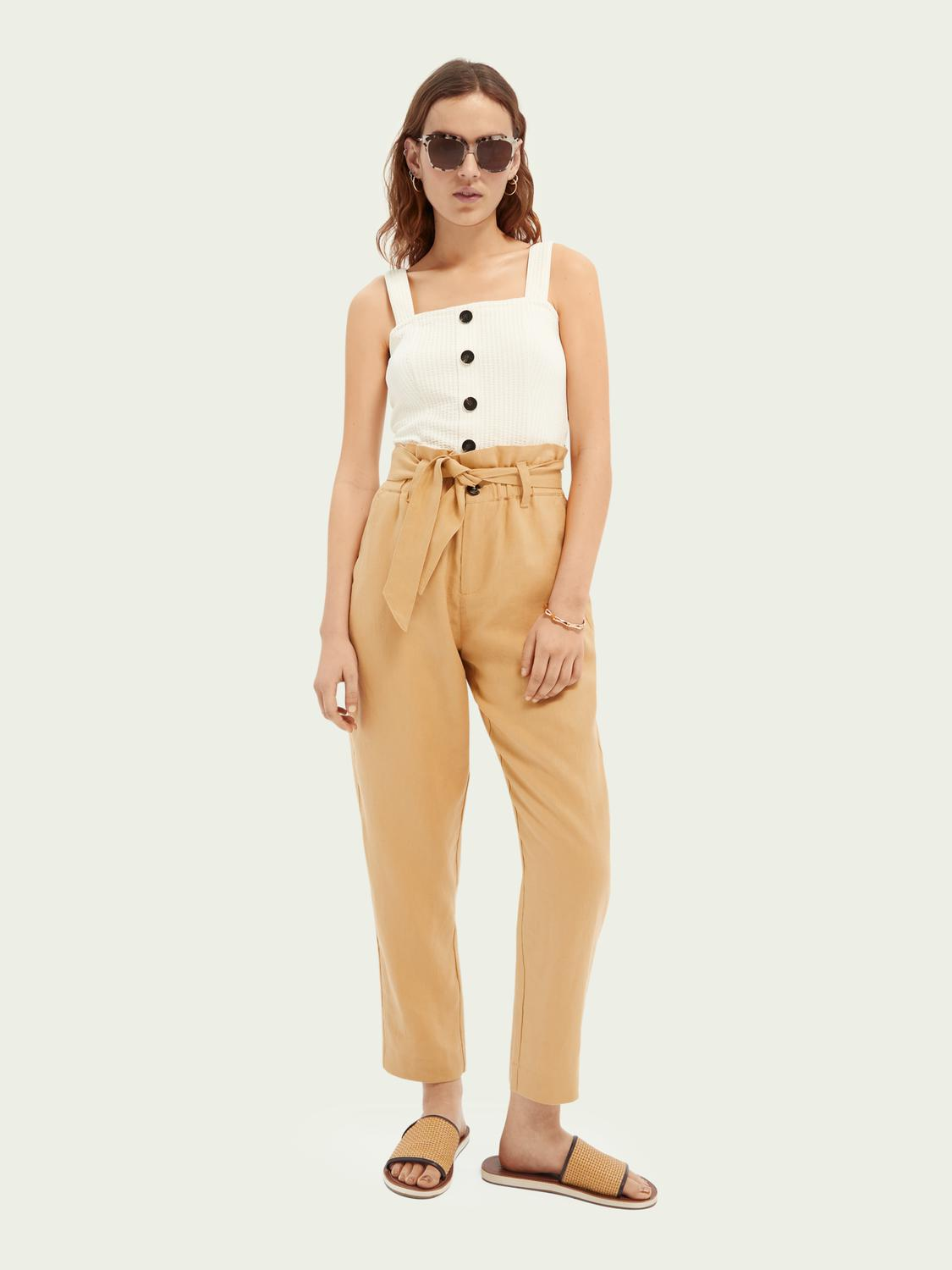 Cropped ribbed top 1