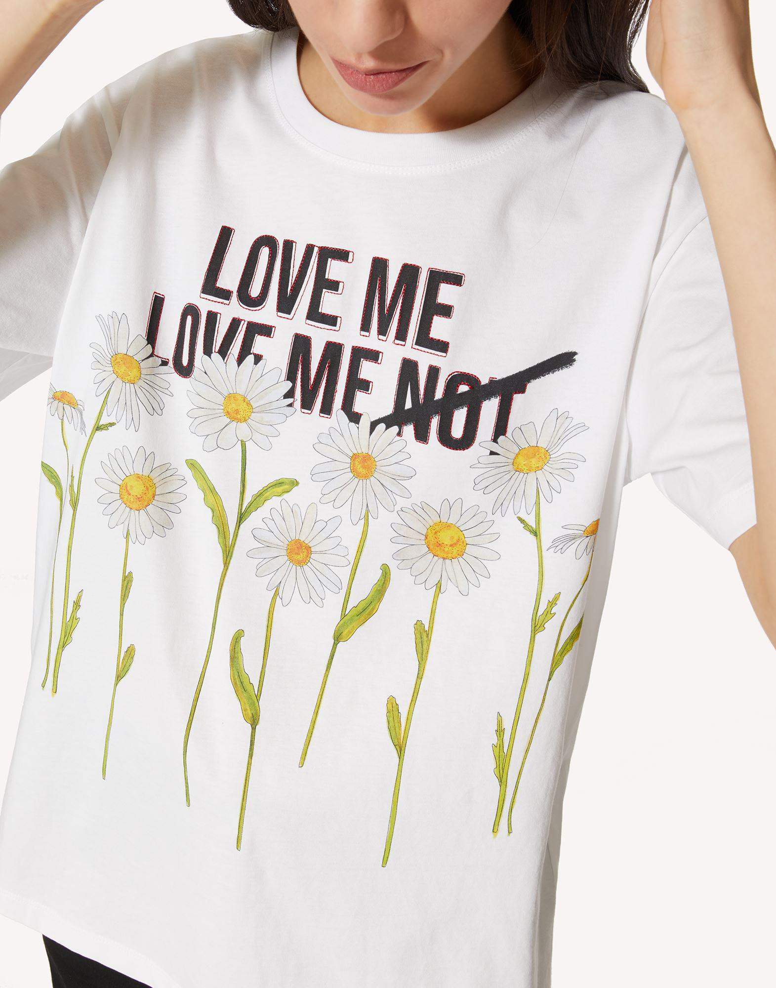 T-SHIRT WITH DAISY PRINT 4