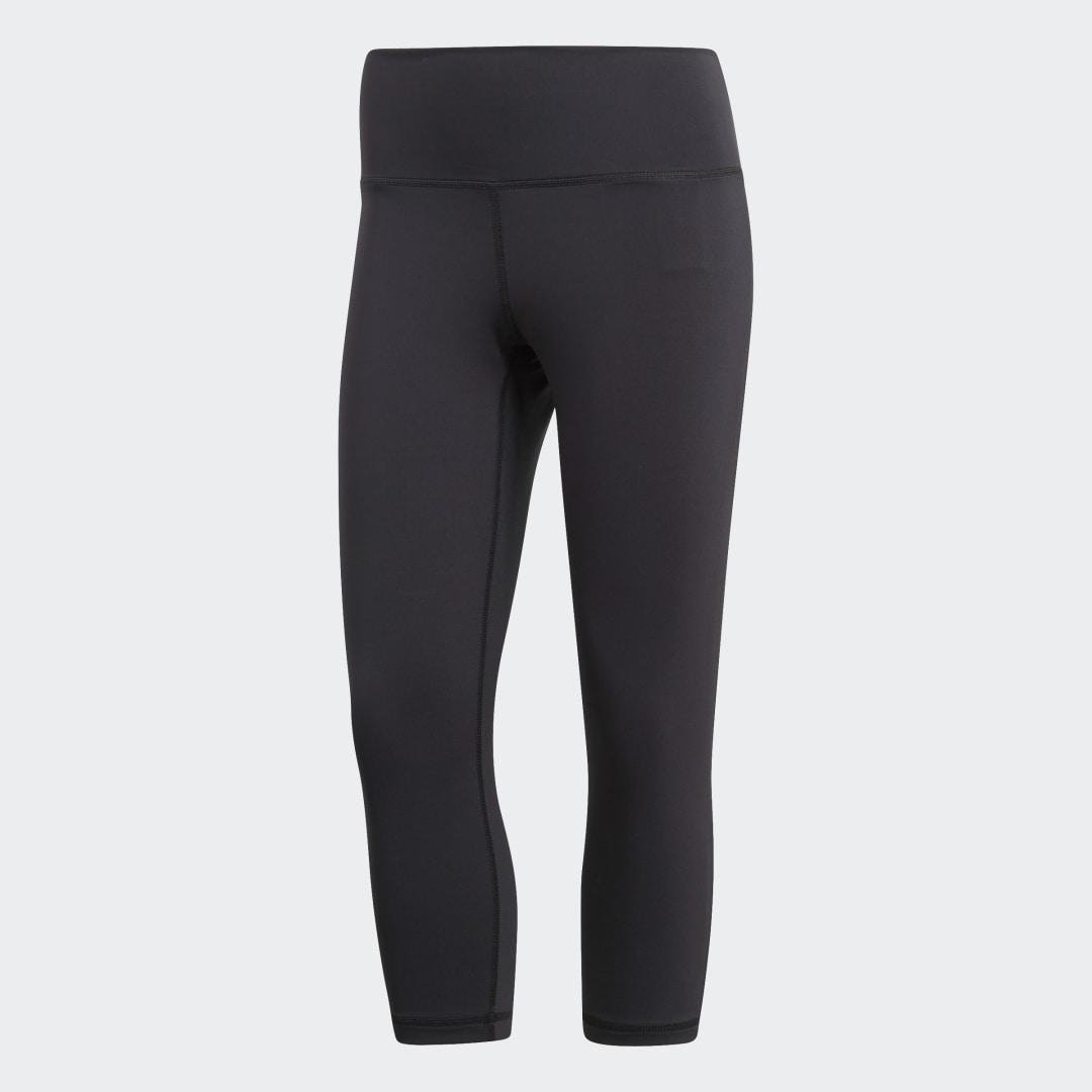 Believe This High-Rise 3/4 Tights Black