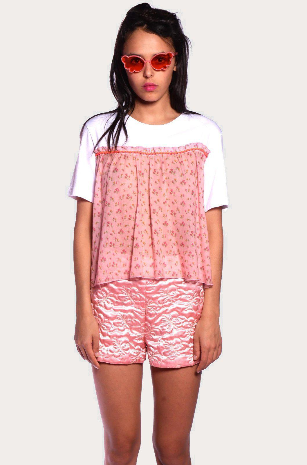 Quilted Butterflies Shorts 0