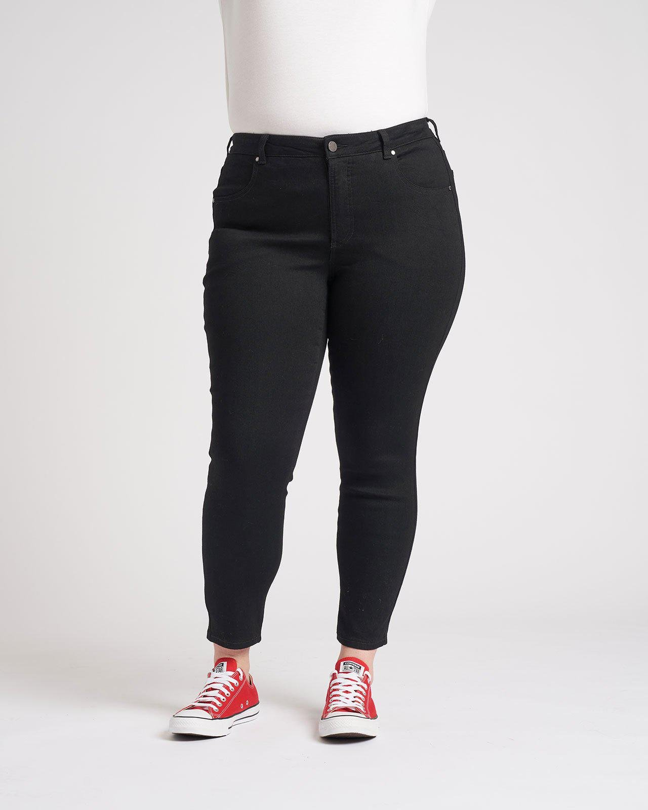 Seine Mid Rise Skinny Jeans 27 Inch