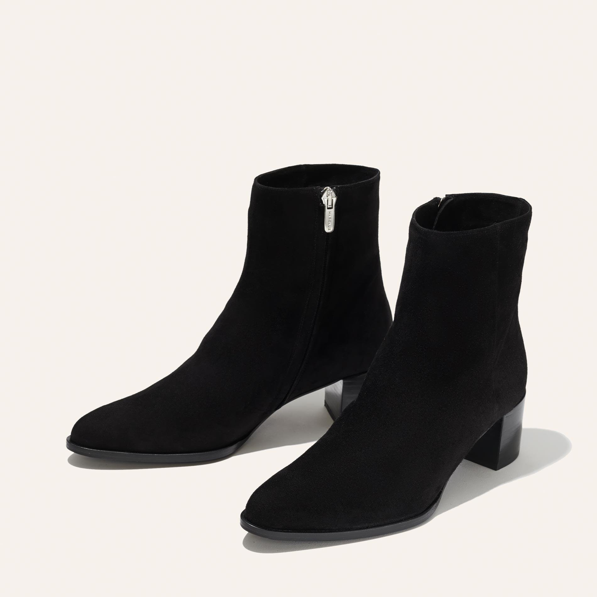 The Downtown Boot - Black Suede 1