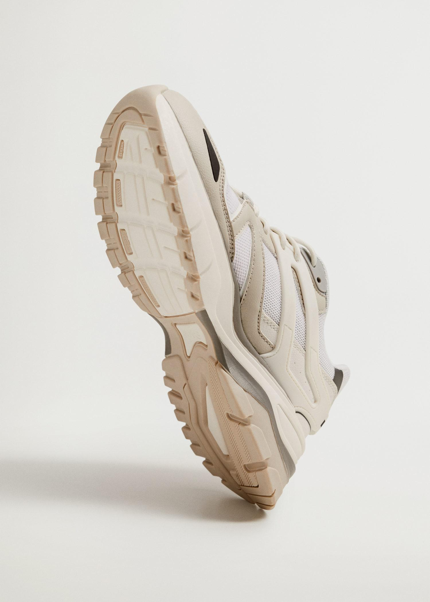 Track sole sneakers 2