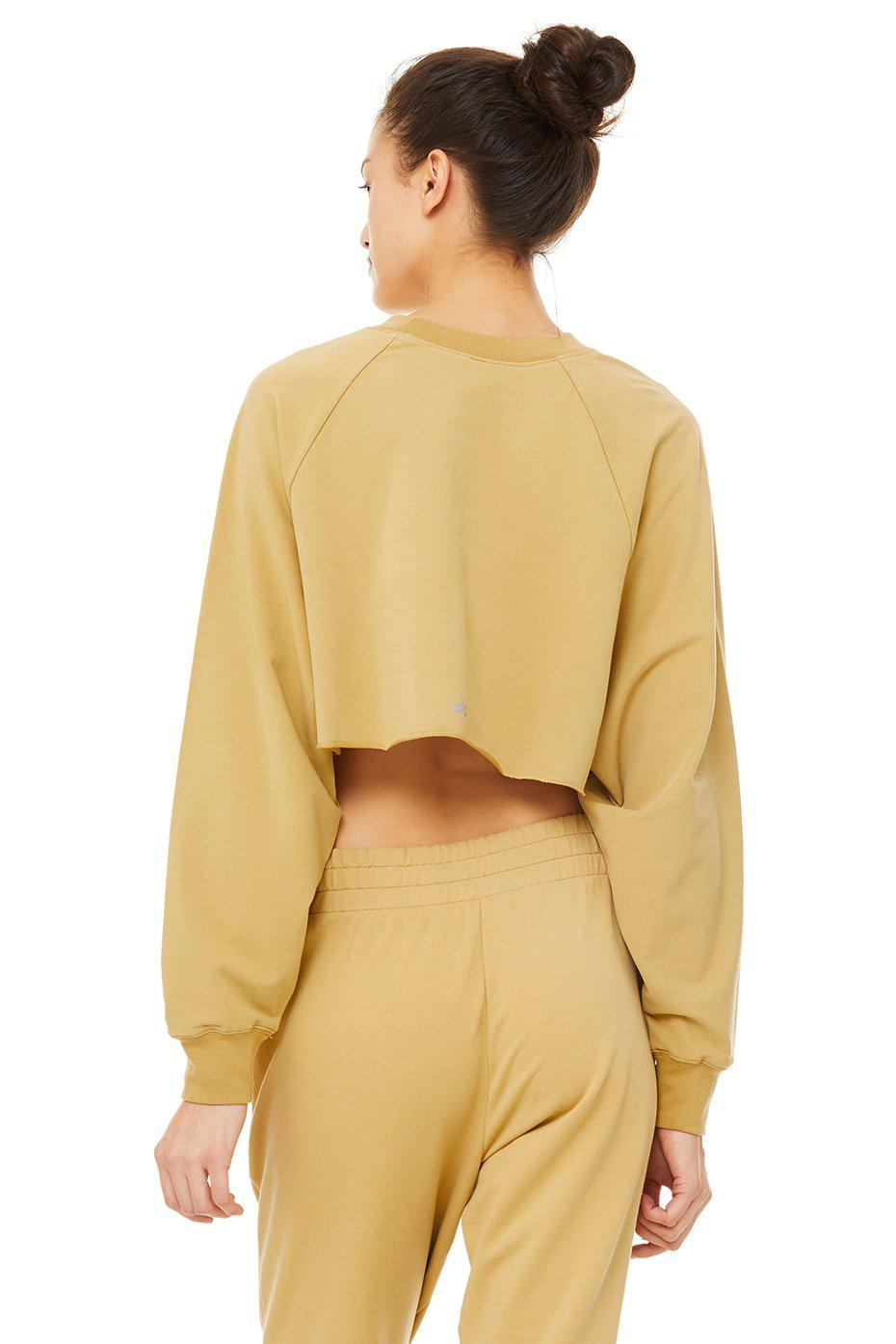 Double Take Pullover - Honey 2