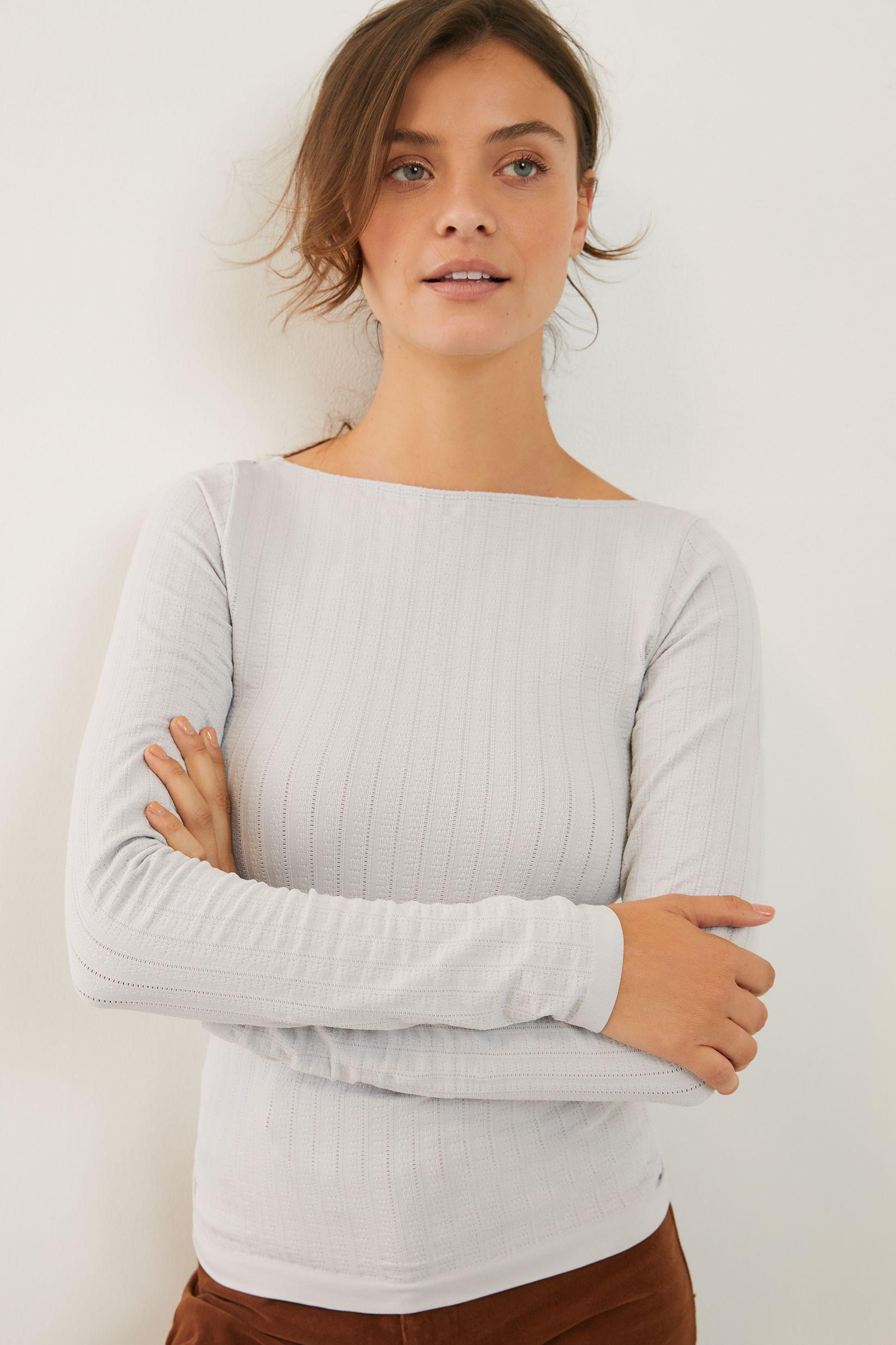 Aidy Seamless Scoop-Back Top 1