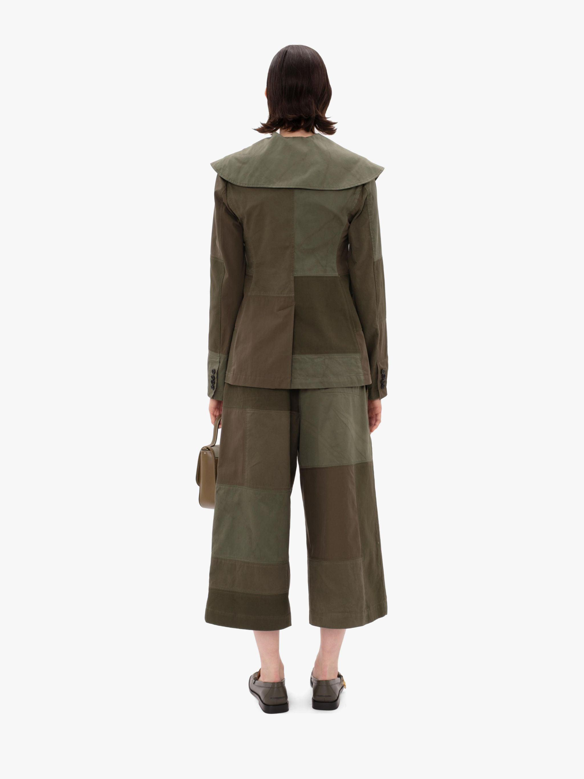CROPPED WIDE LEG TROUSERS 2