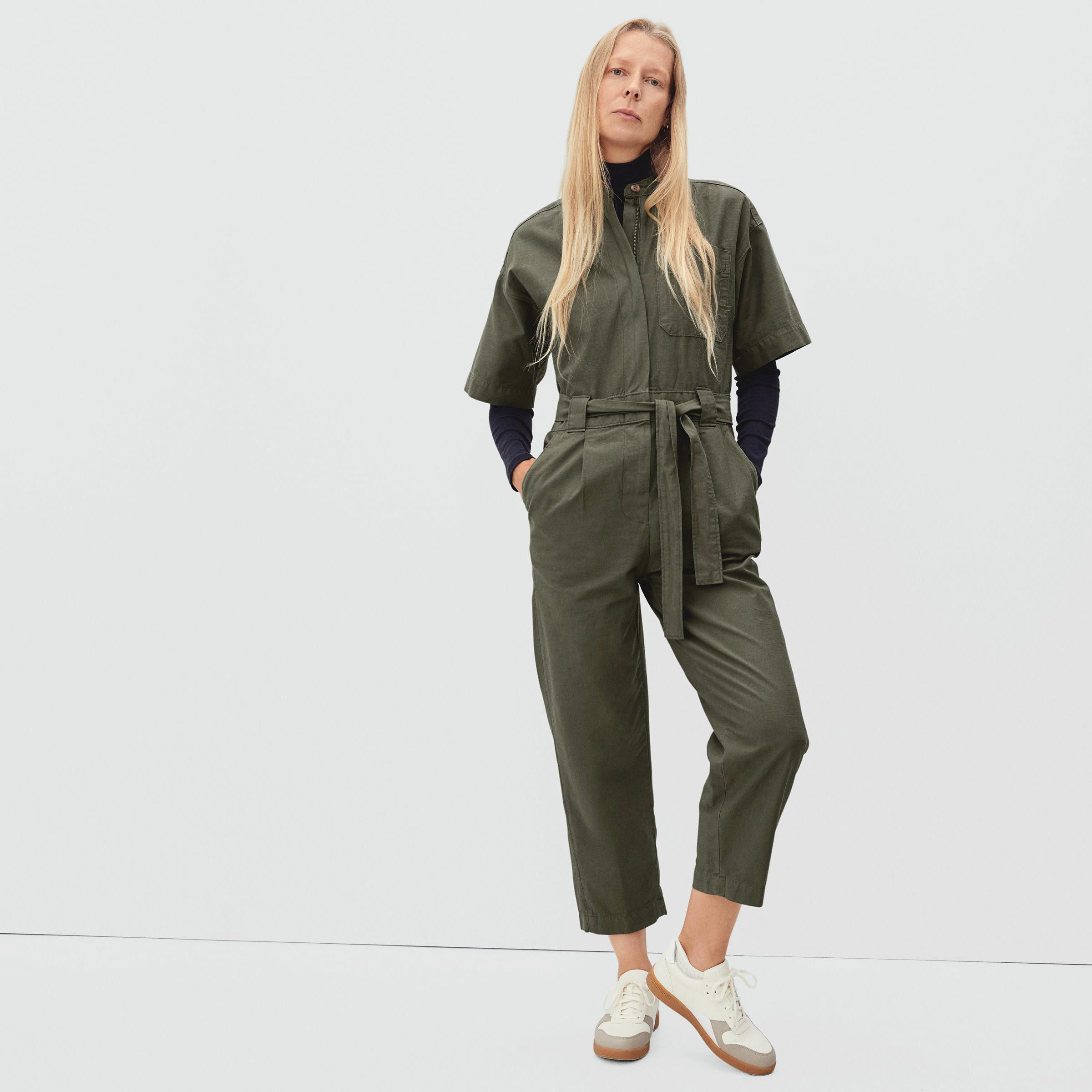 The Fatigue Short-Sleeve Jumpsuit