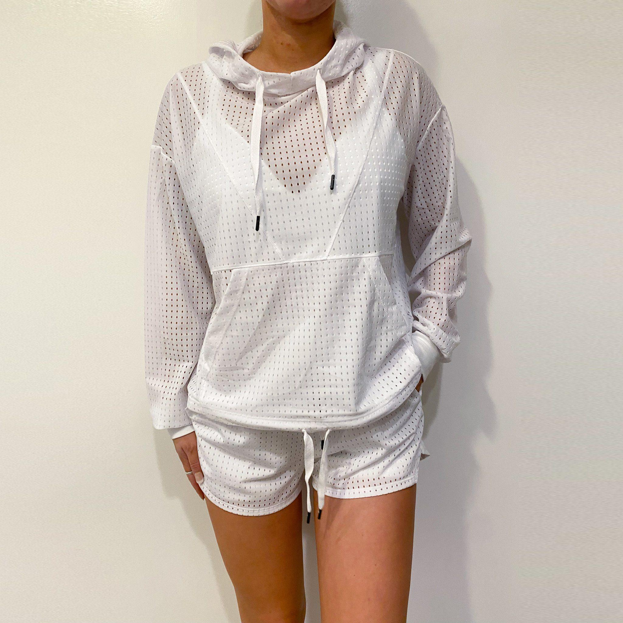 Barely There Mesh Windbreaker