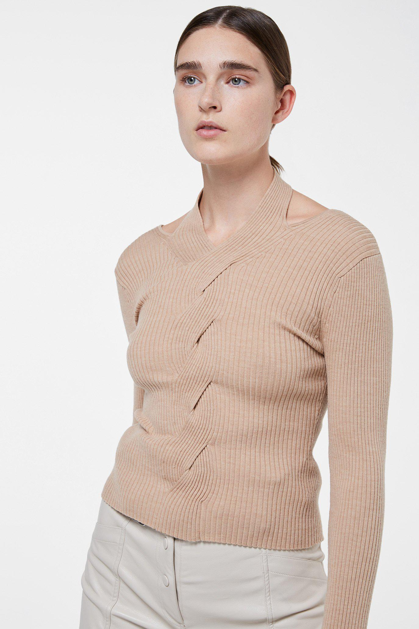 Leah Cable Knit Pullover 1
