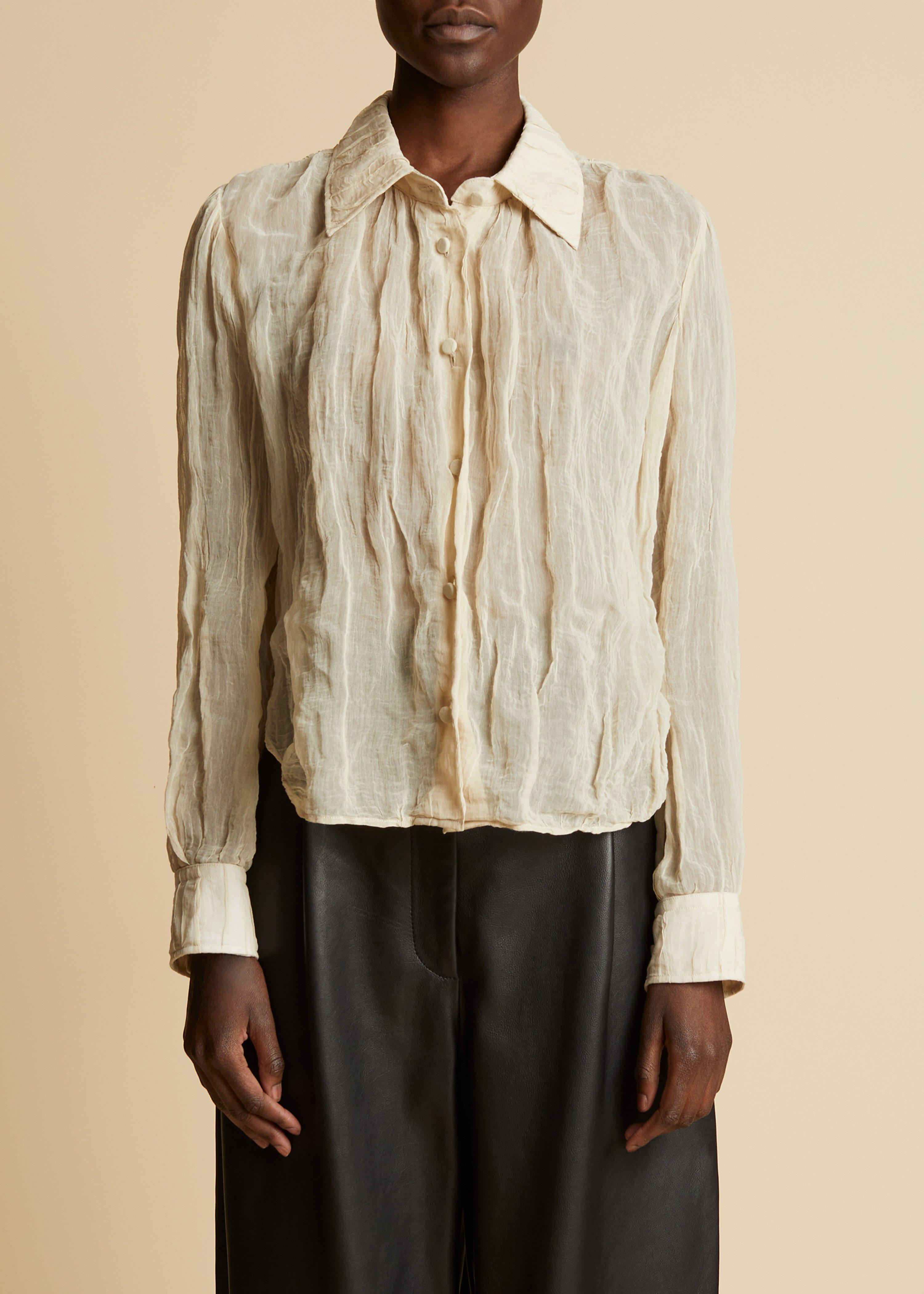 The Francoise Top in Natural