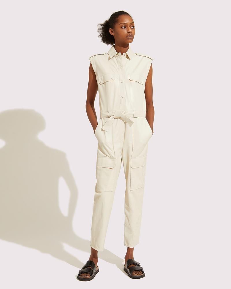 Belted multipockets overall 0