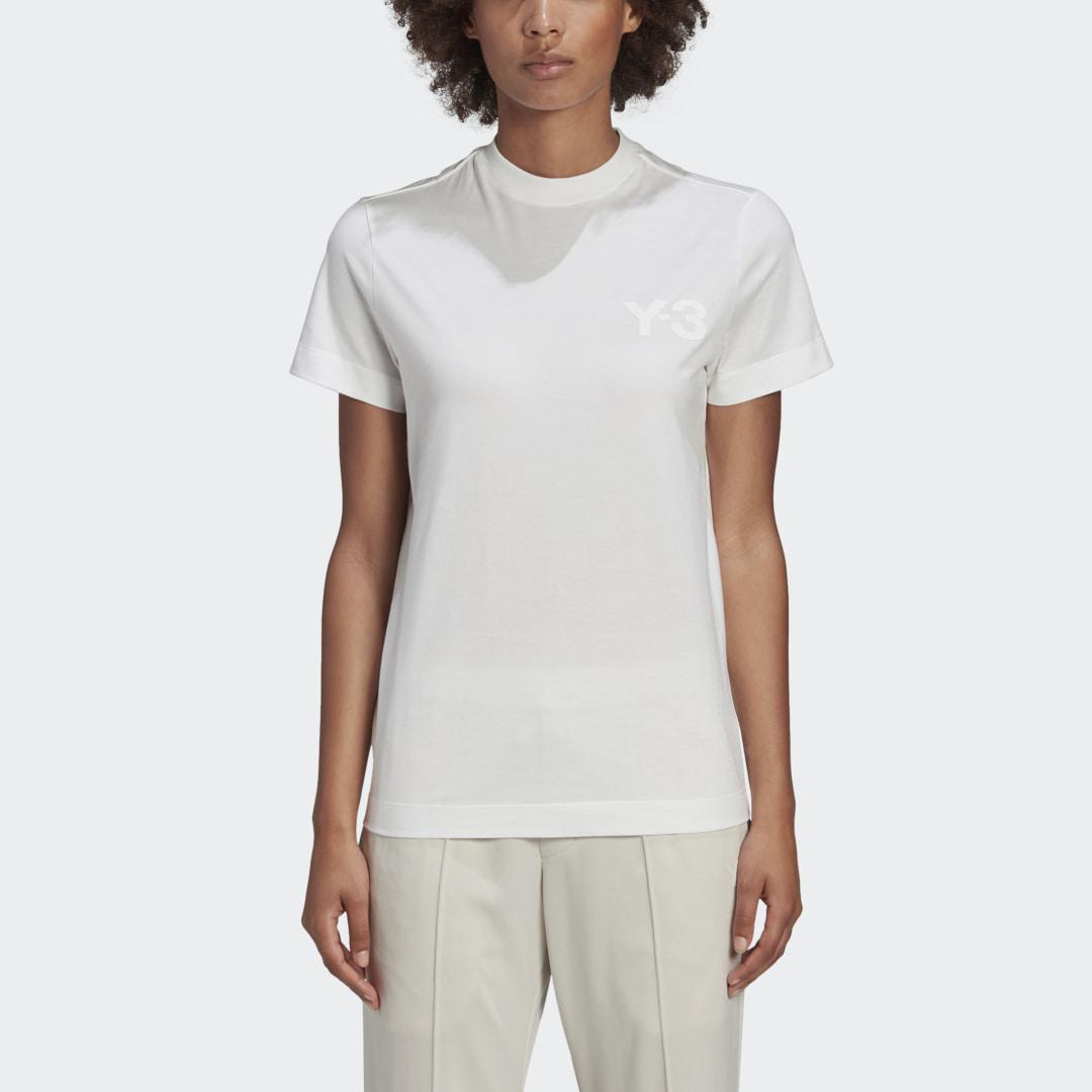 Y-3 Classic Chest Logo Tee White