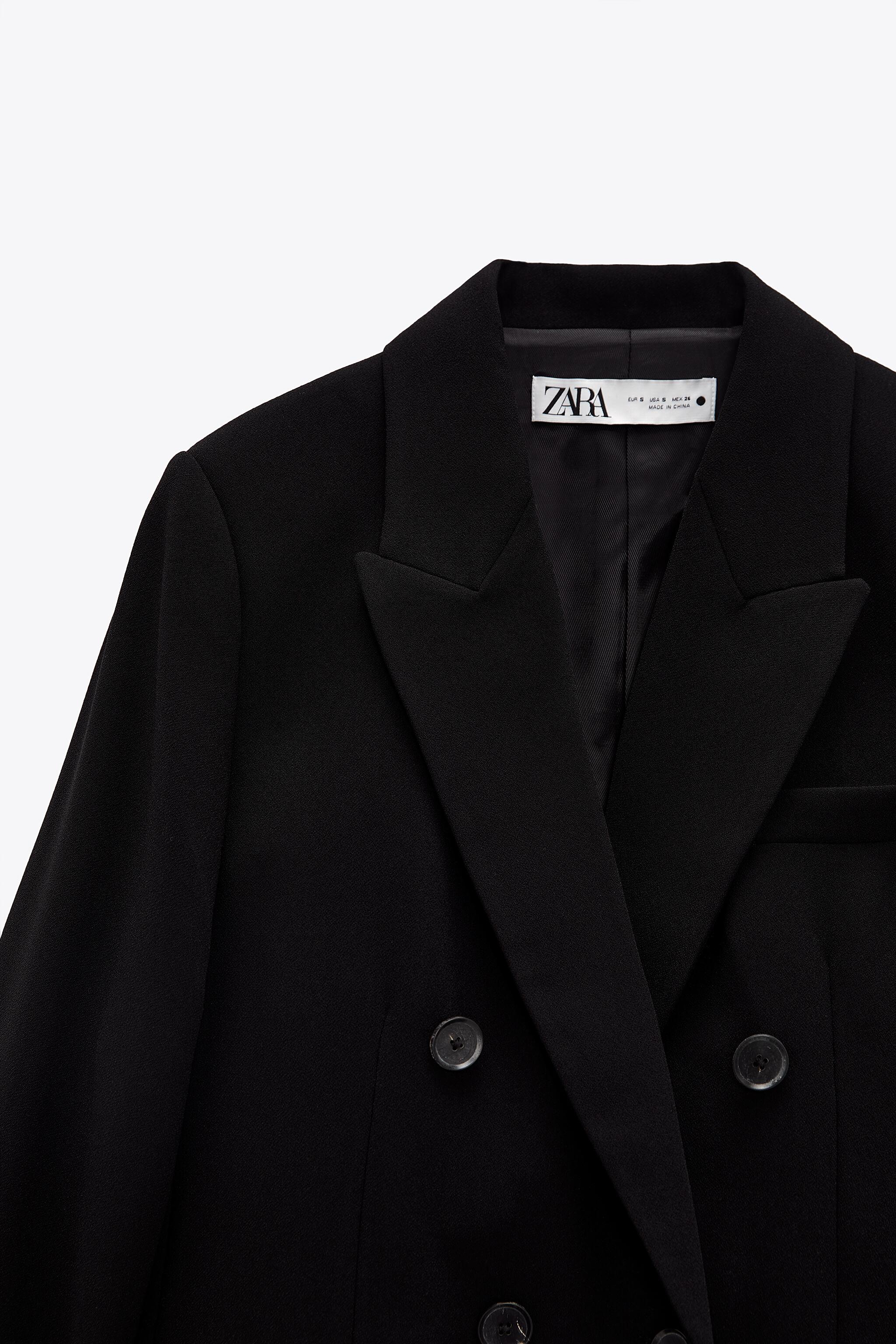 DOUBLE BREASTED BUTTONED JACKET 8