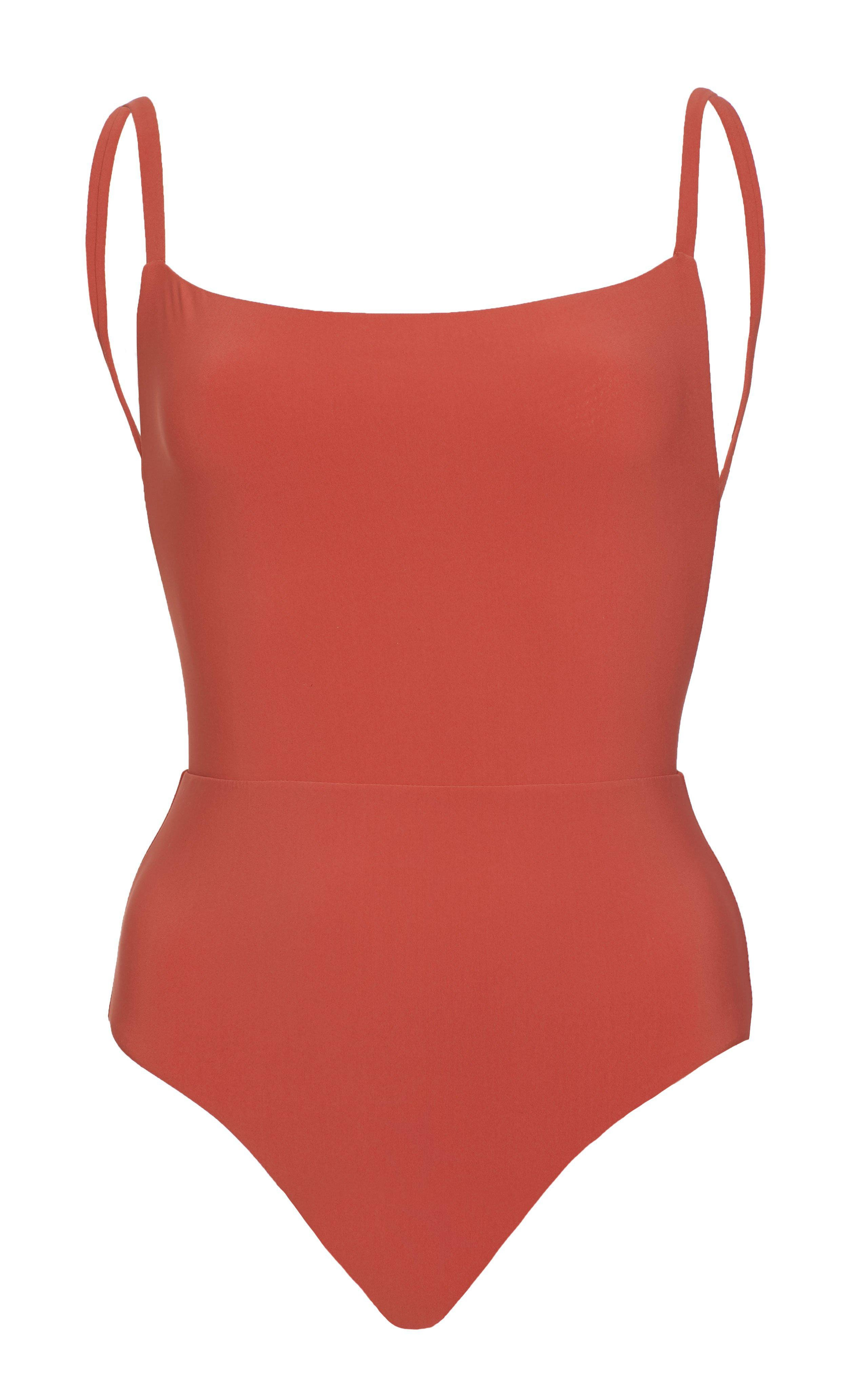 The Square Neck One Piece