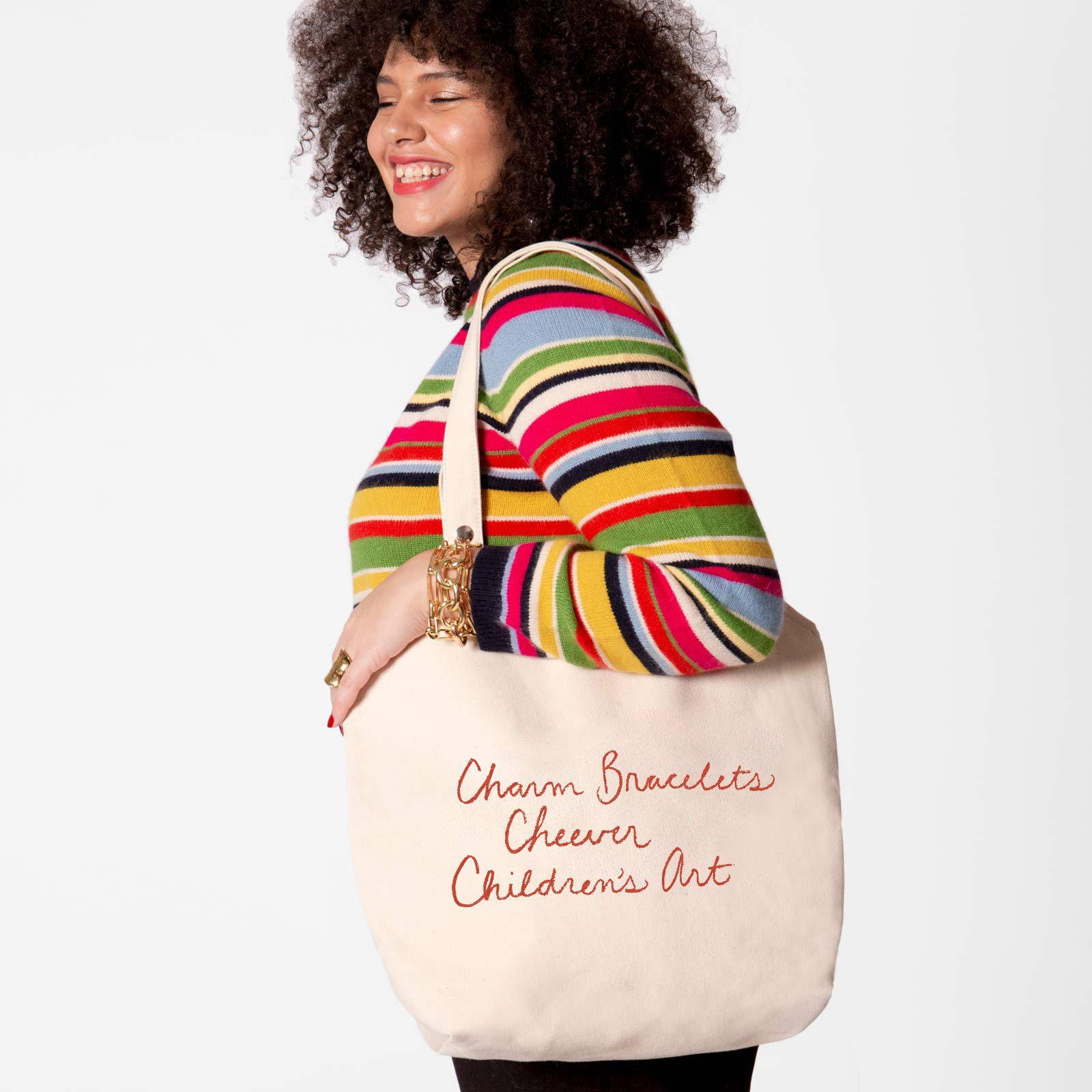 Canvas Tote Favorite Things Red 2