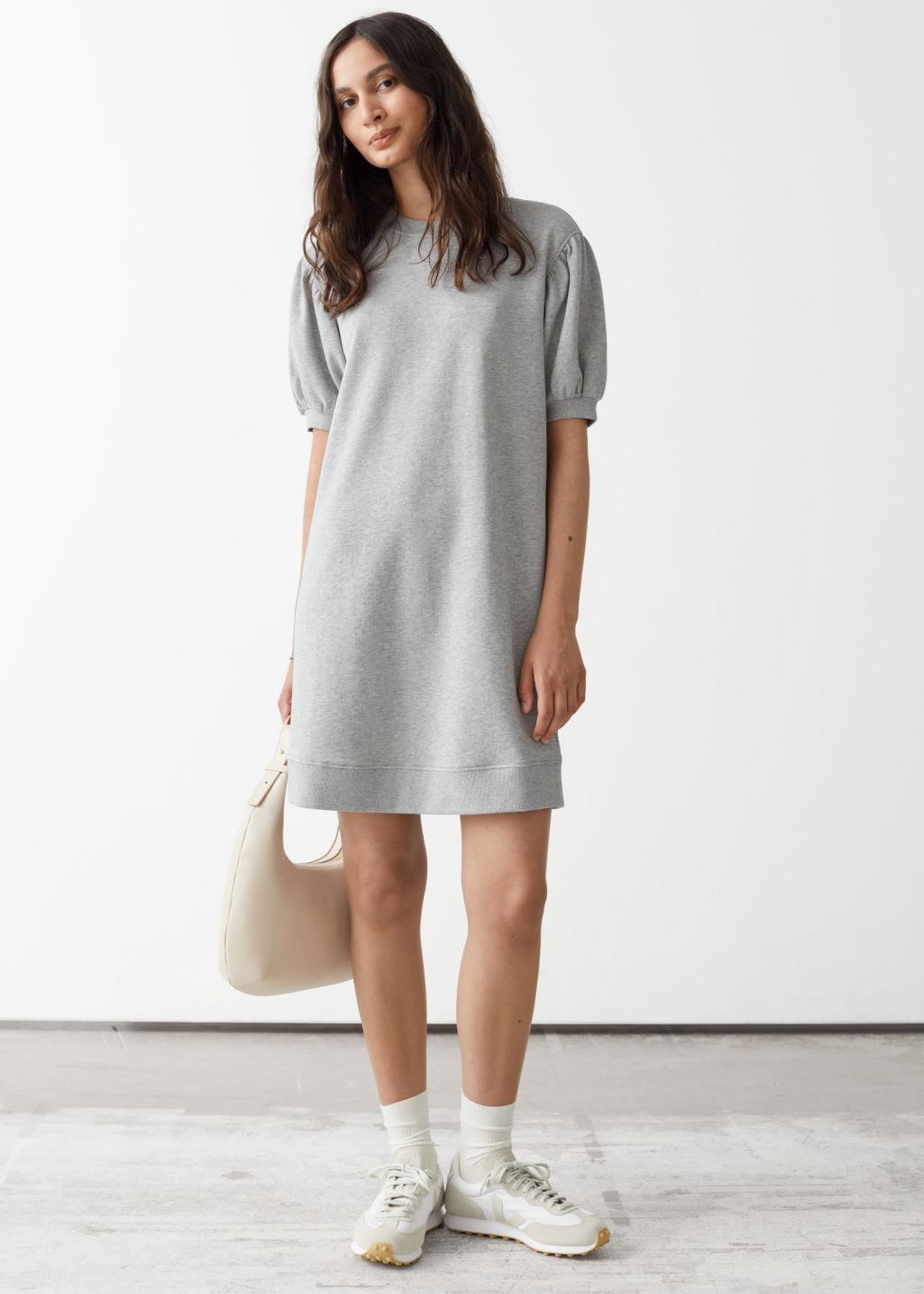 Relaxed Jersey Mini Dress