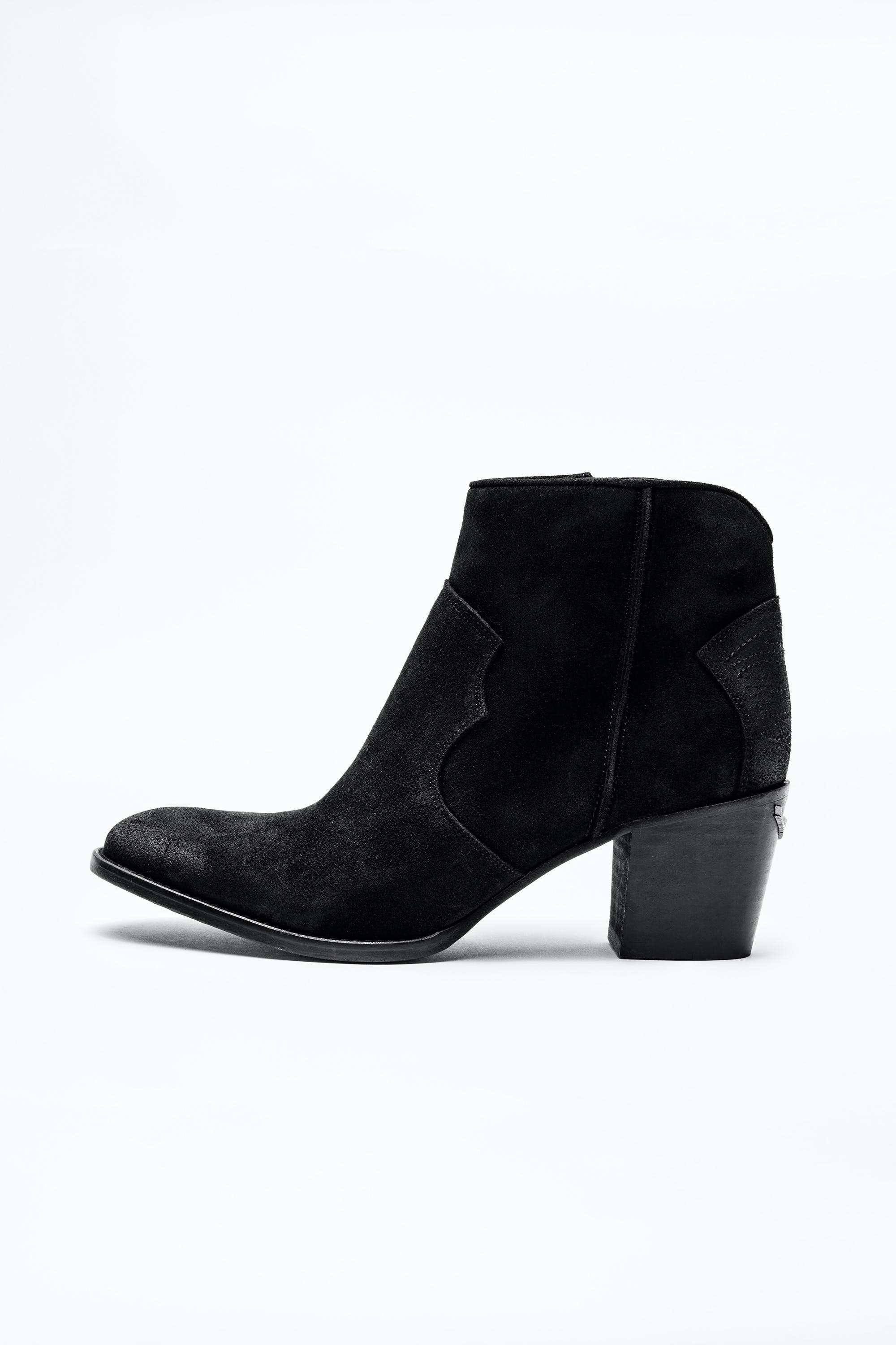 Molly Suede Boots 4