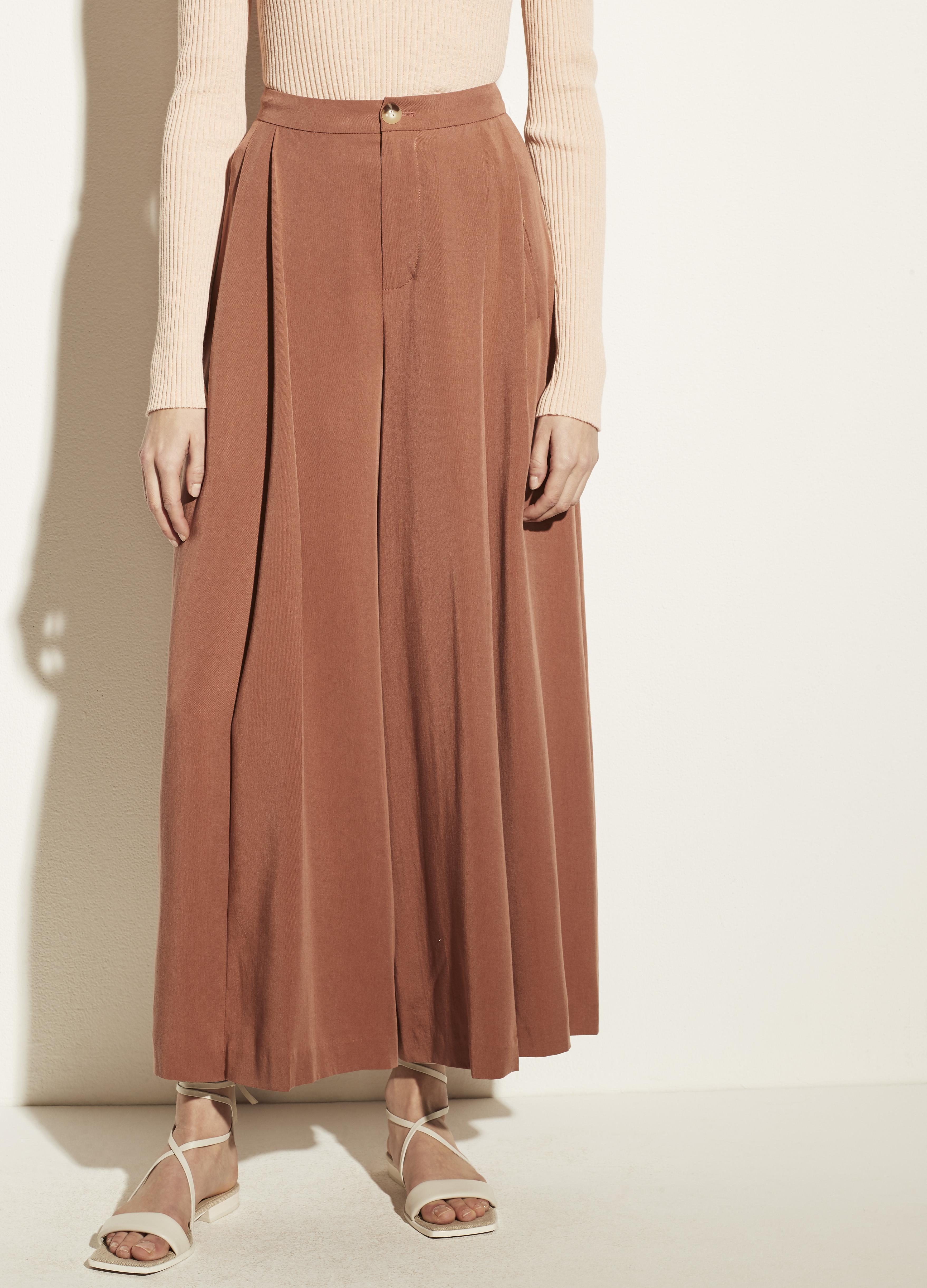 Pleated Culotte 1