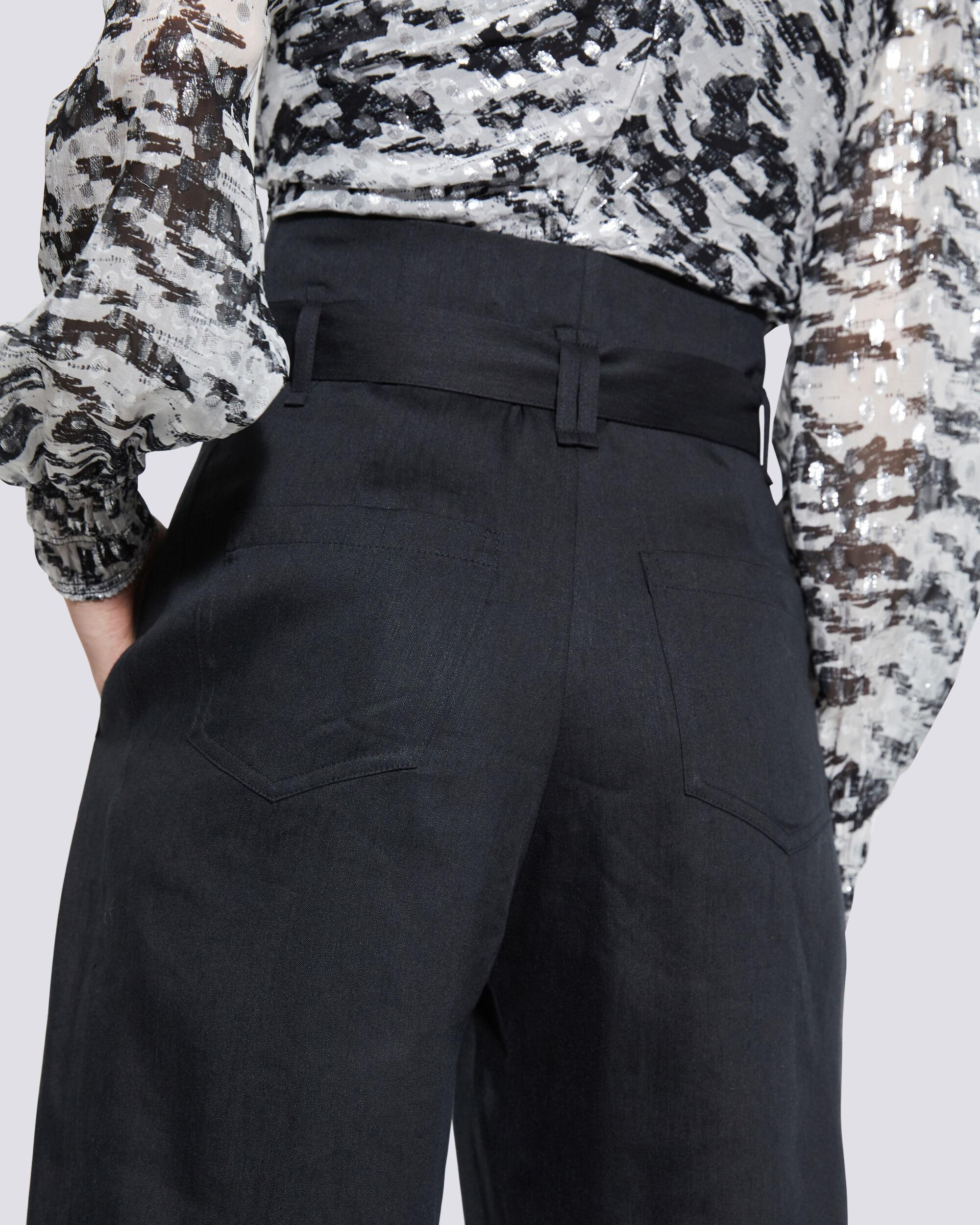 MARGATE PAPERBAG TAPERED TROUSER PANTS 4