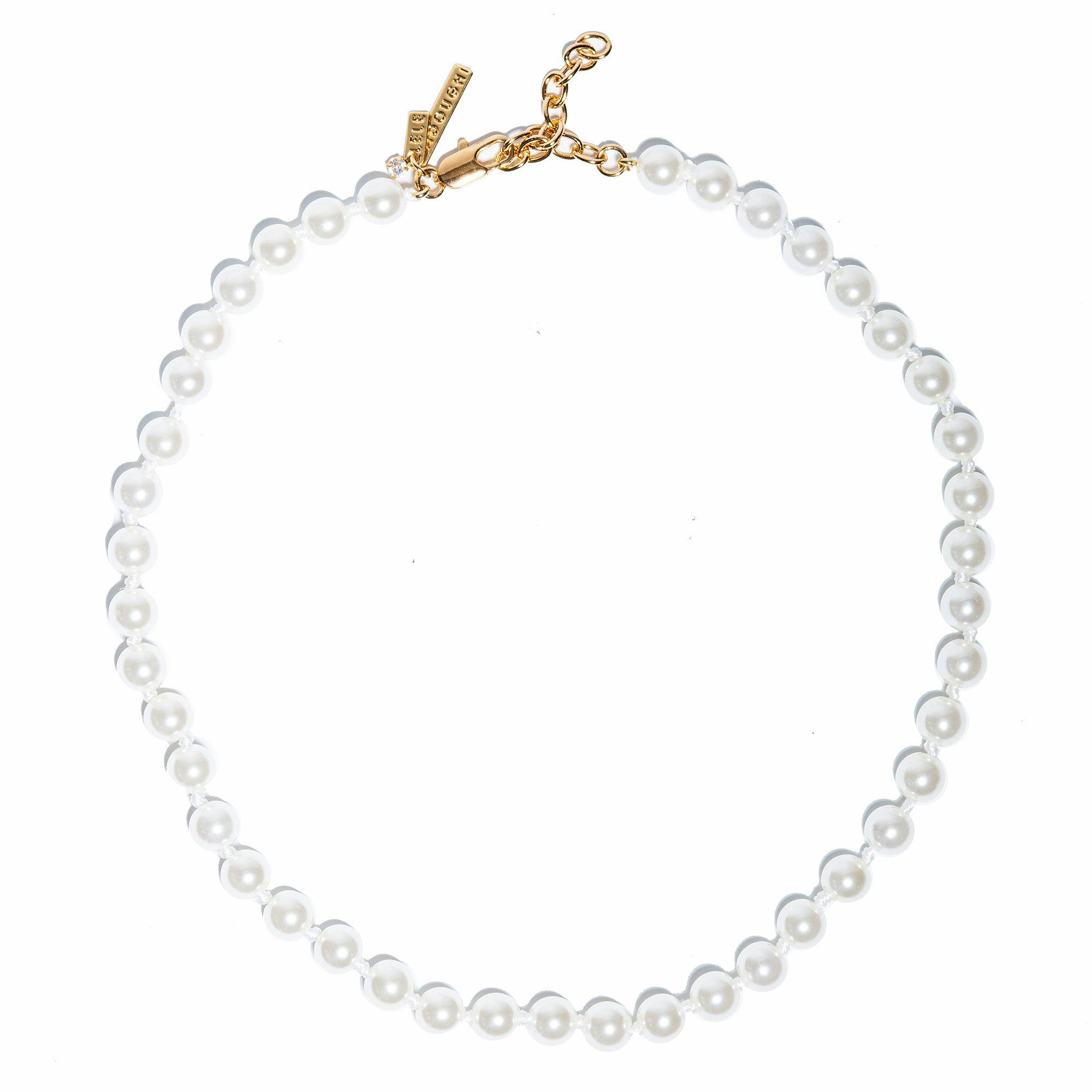 IVORY PEARL COLLAR NECKLACE