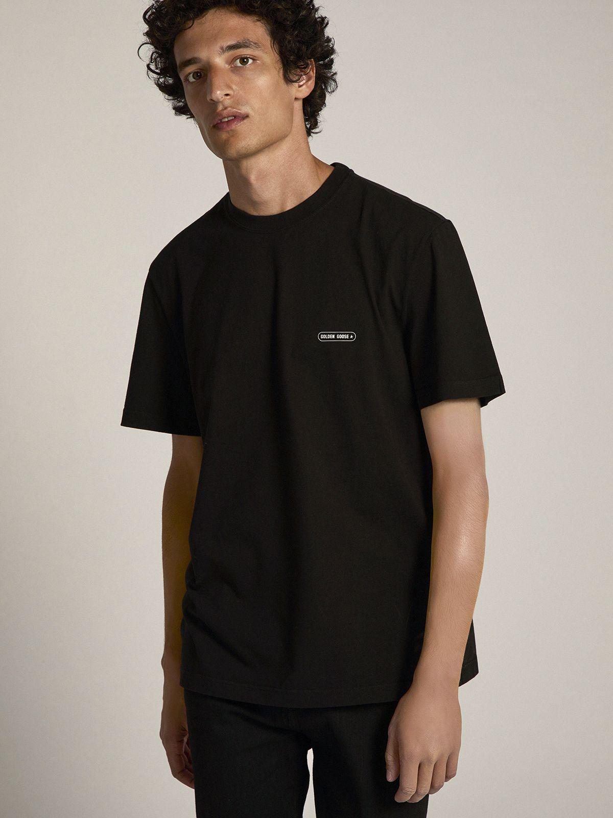 Black T-shirt Game EDT Capsule Collection with contrasting logo 1
