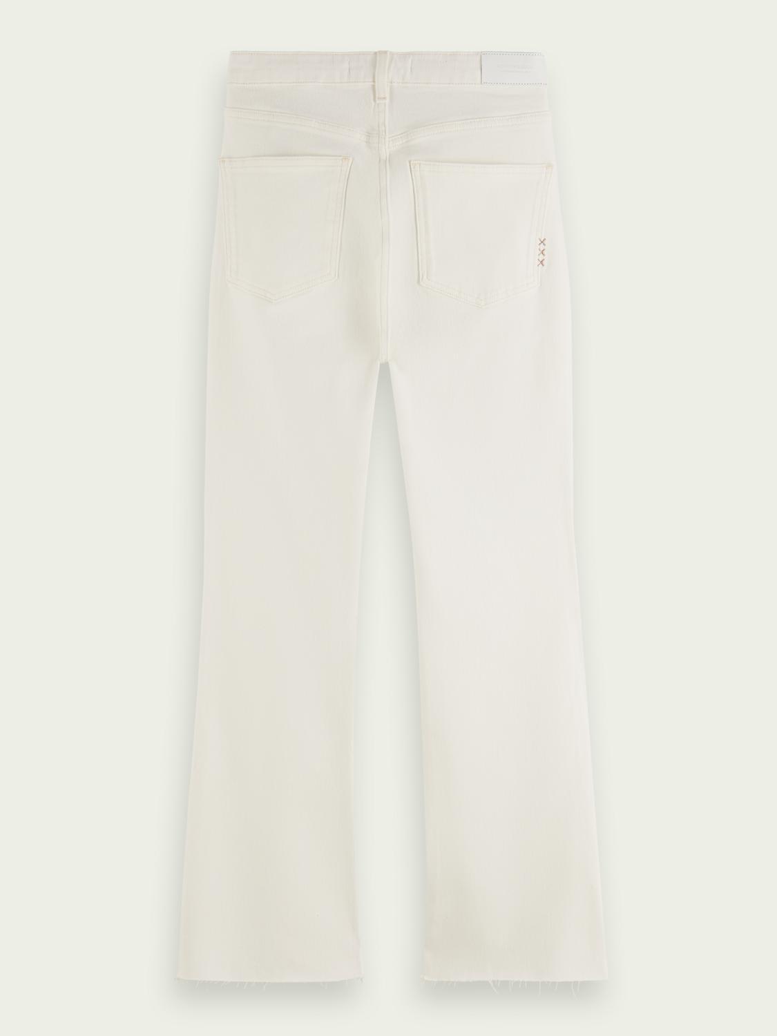 The Kick flared jeans — Summer White 7
