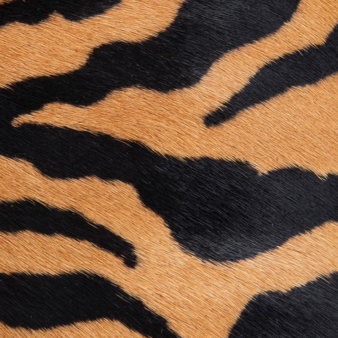 Bougie Tiger-Print Pony Hair Leather 13