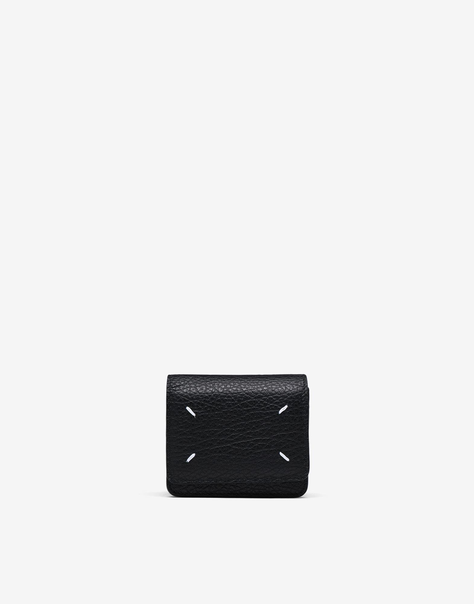 Small leather chain wallet