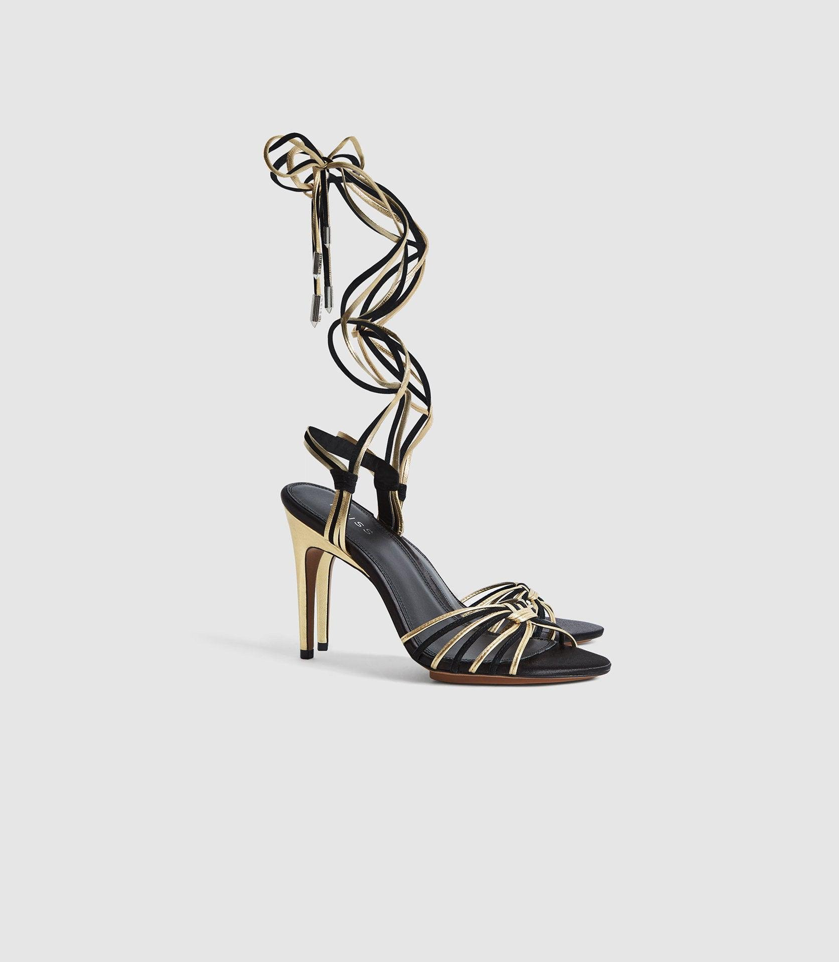 CASSIDY - STRAPPY HIGH HEELED SANDALS 1