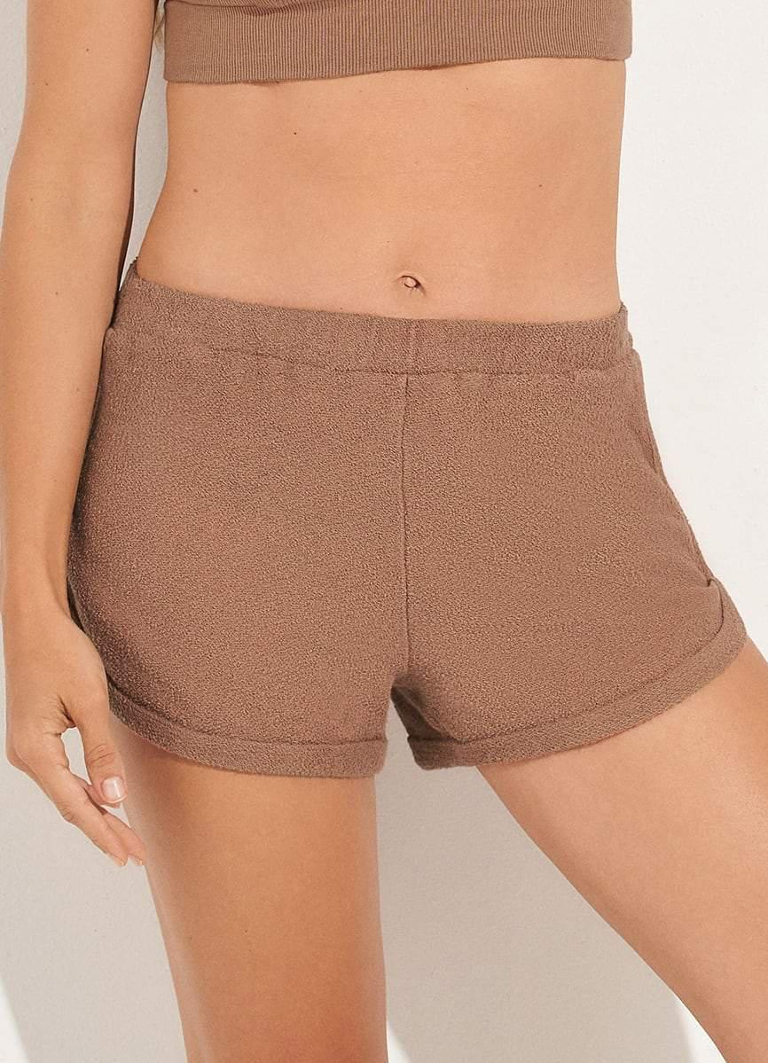 Nifty Mocca Light Terry Shorts