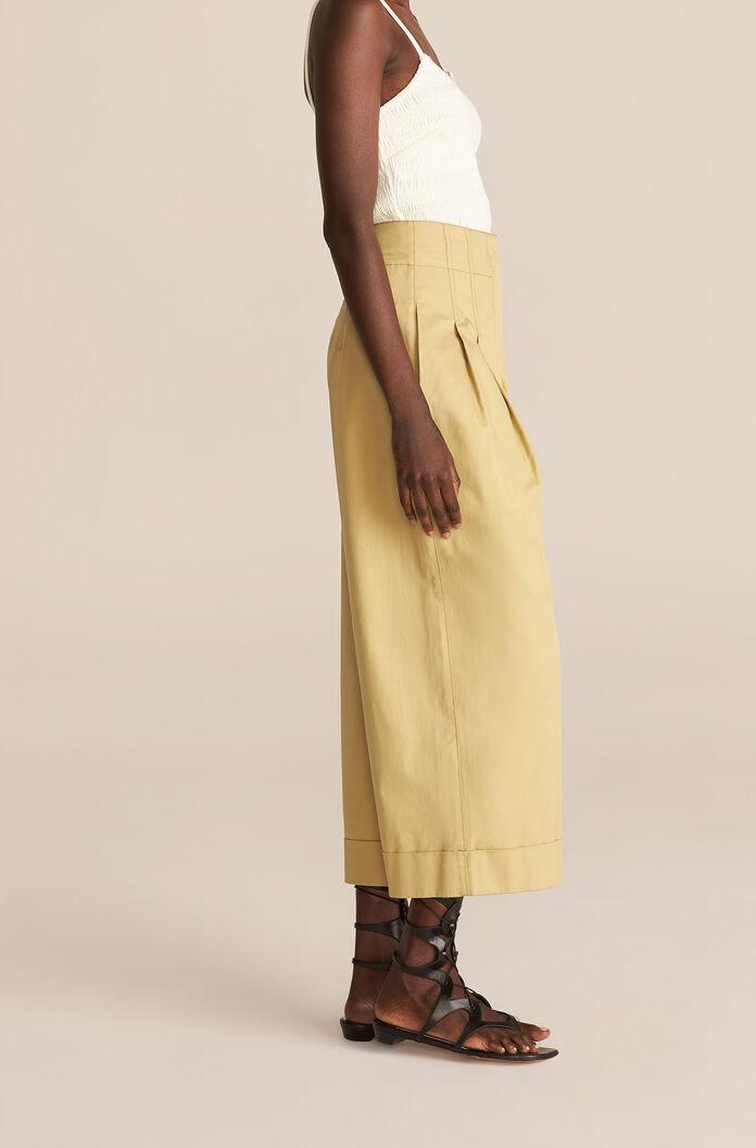 COMPACT TWILL FLARE PANT 2