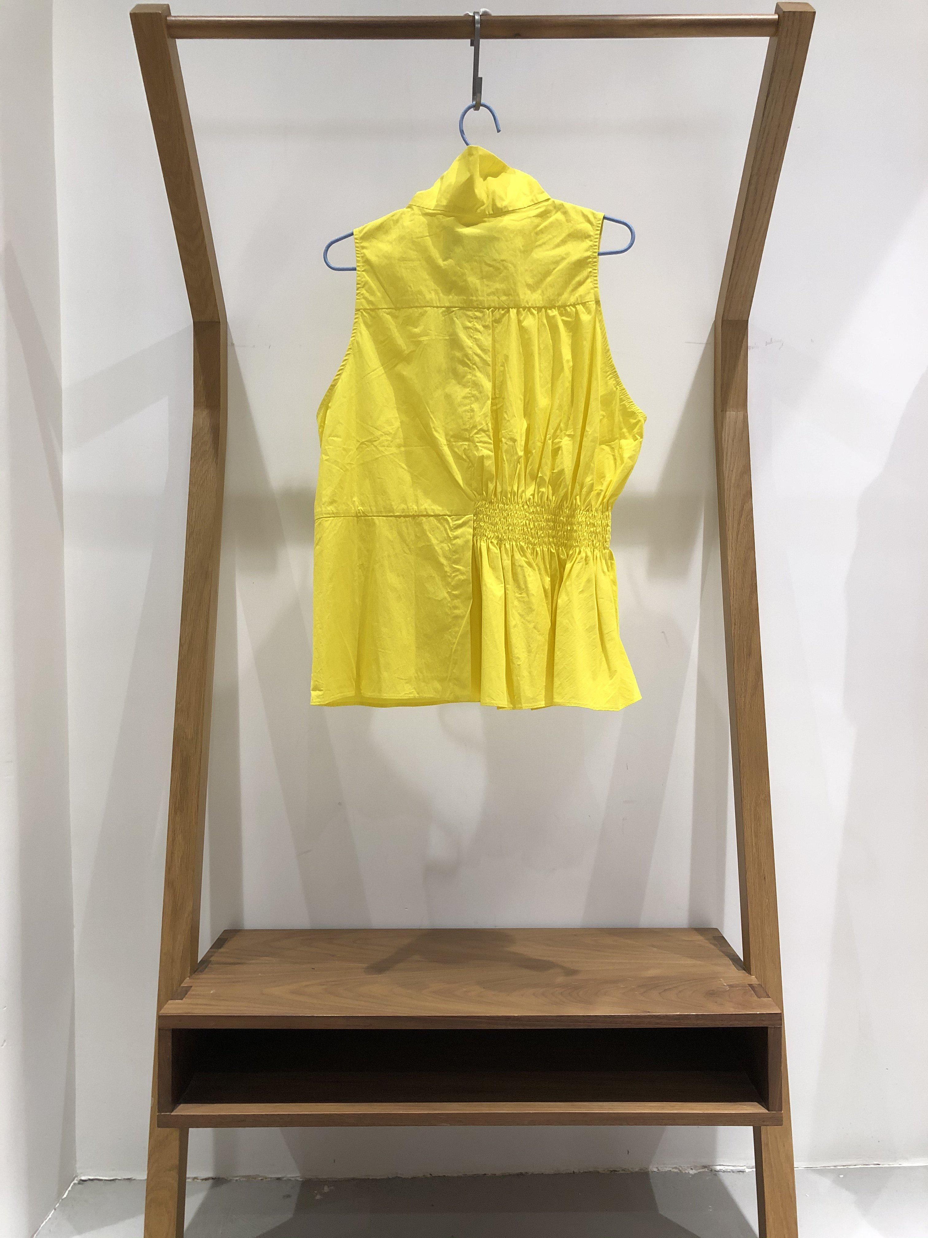 Funnel Neck A Line Top (yellowfins cotton) 1