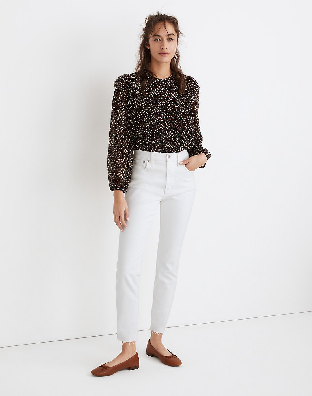 The Perfect Vintage Jean in Tile White