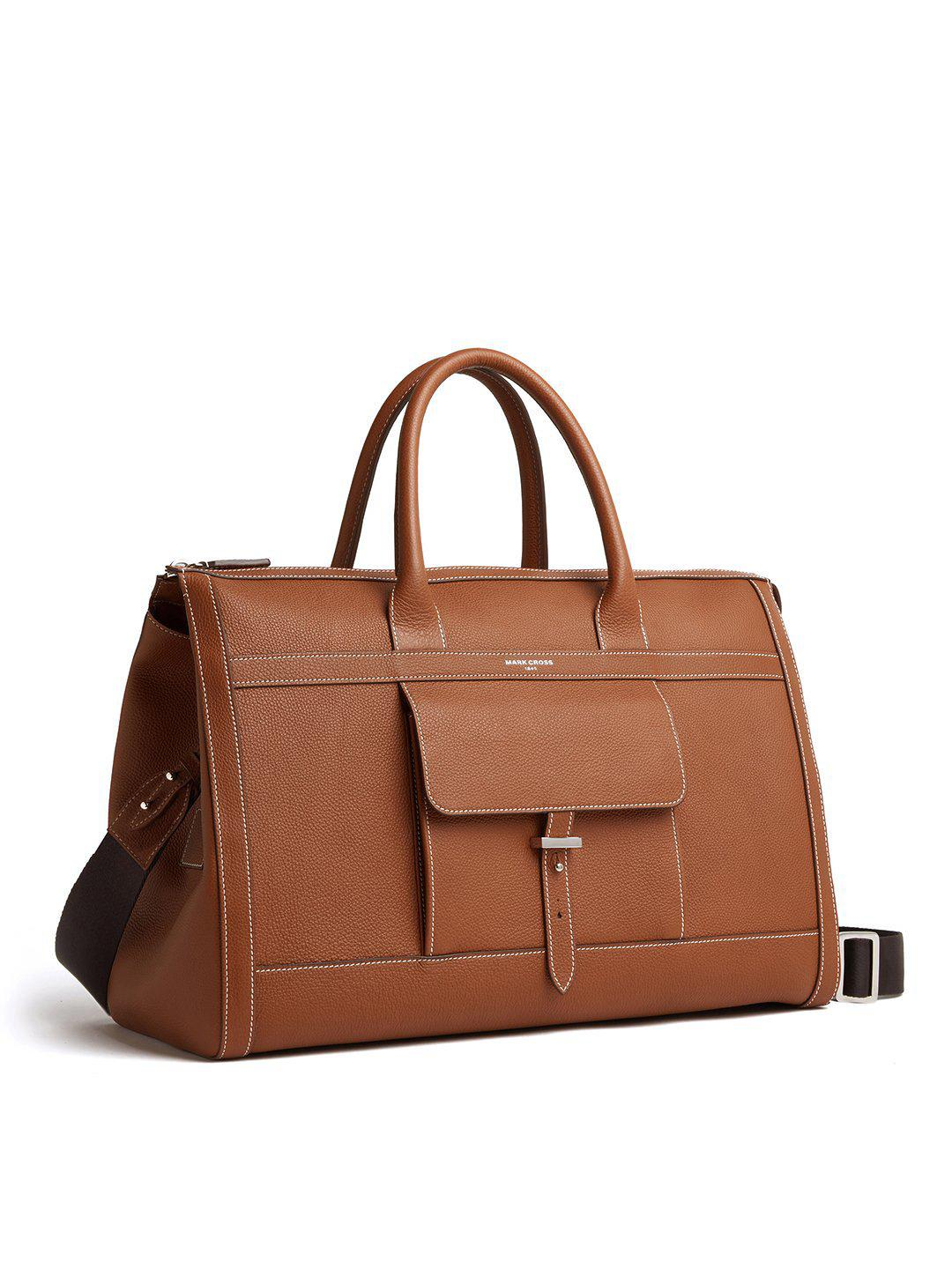 Mick Holdall Leather Duffle Bag 3