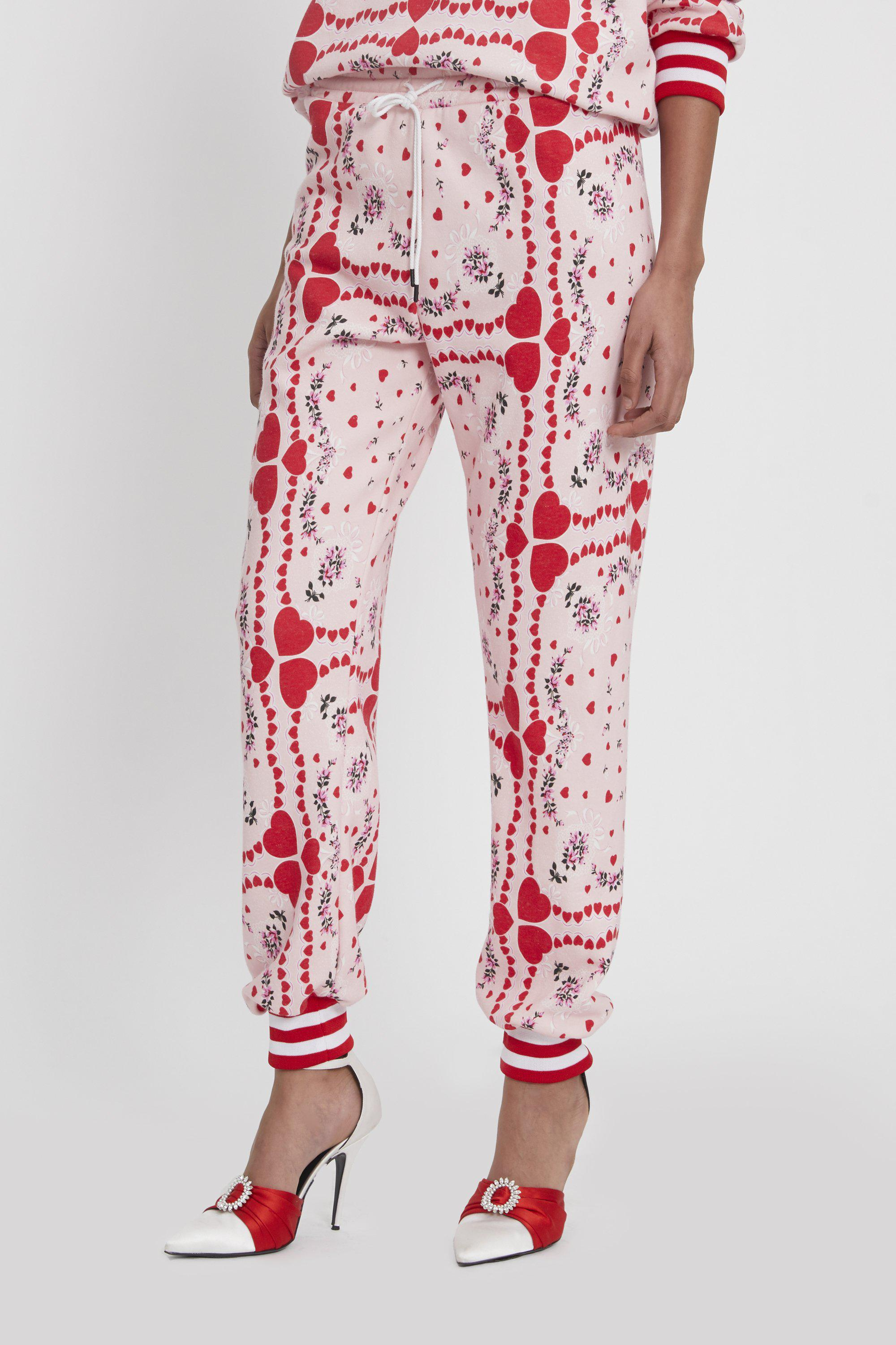 HEART AND FLORAL PRINT SWEATPANT 3
