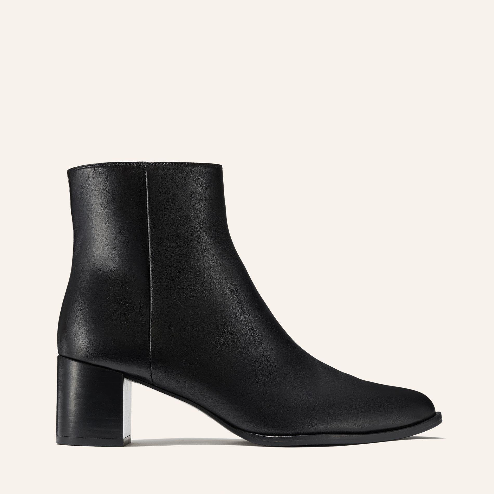 The Downtown Boot - Black Calf