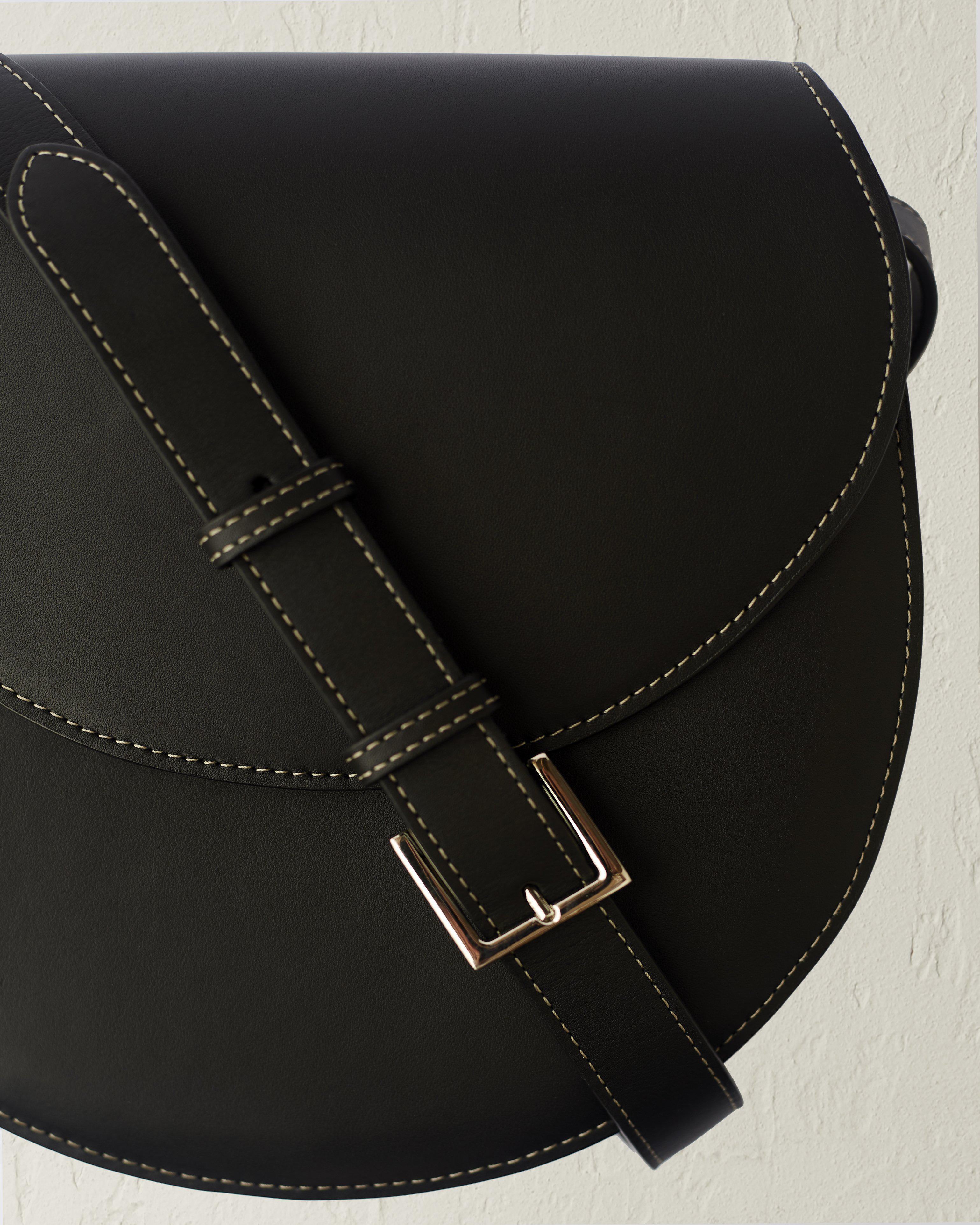The Large Saddle in Nappa Leather 3