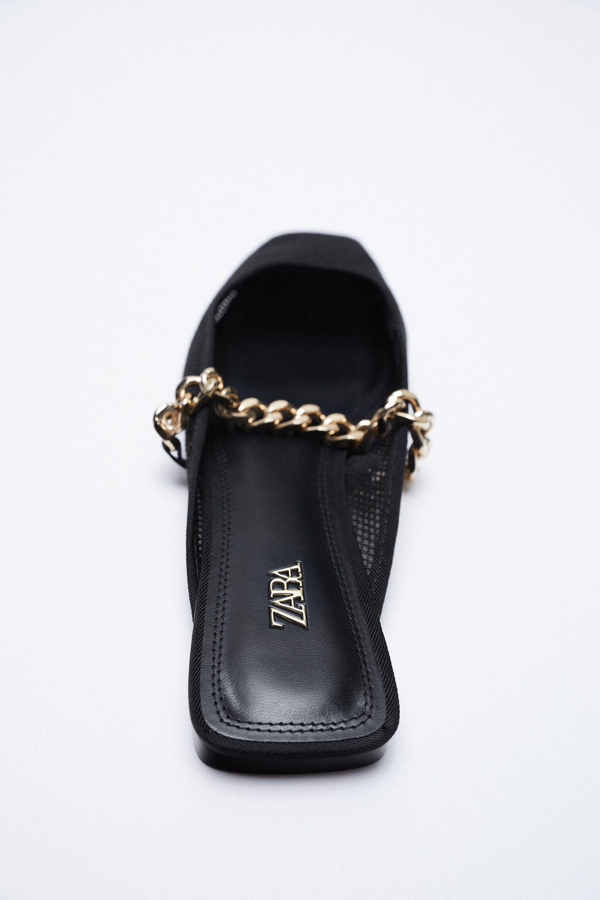 MESH SLIDE SHOES WITH CHAIN 1