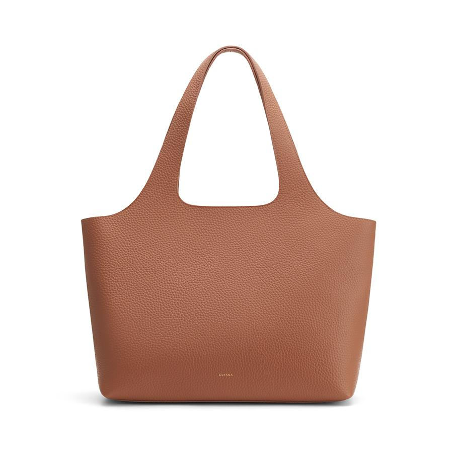 Women's System Tote Bag in Caramel | Size: