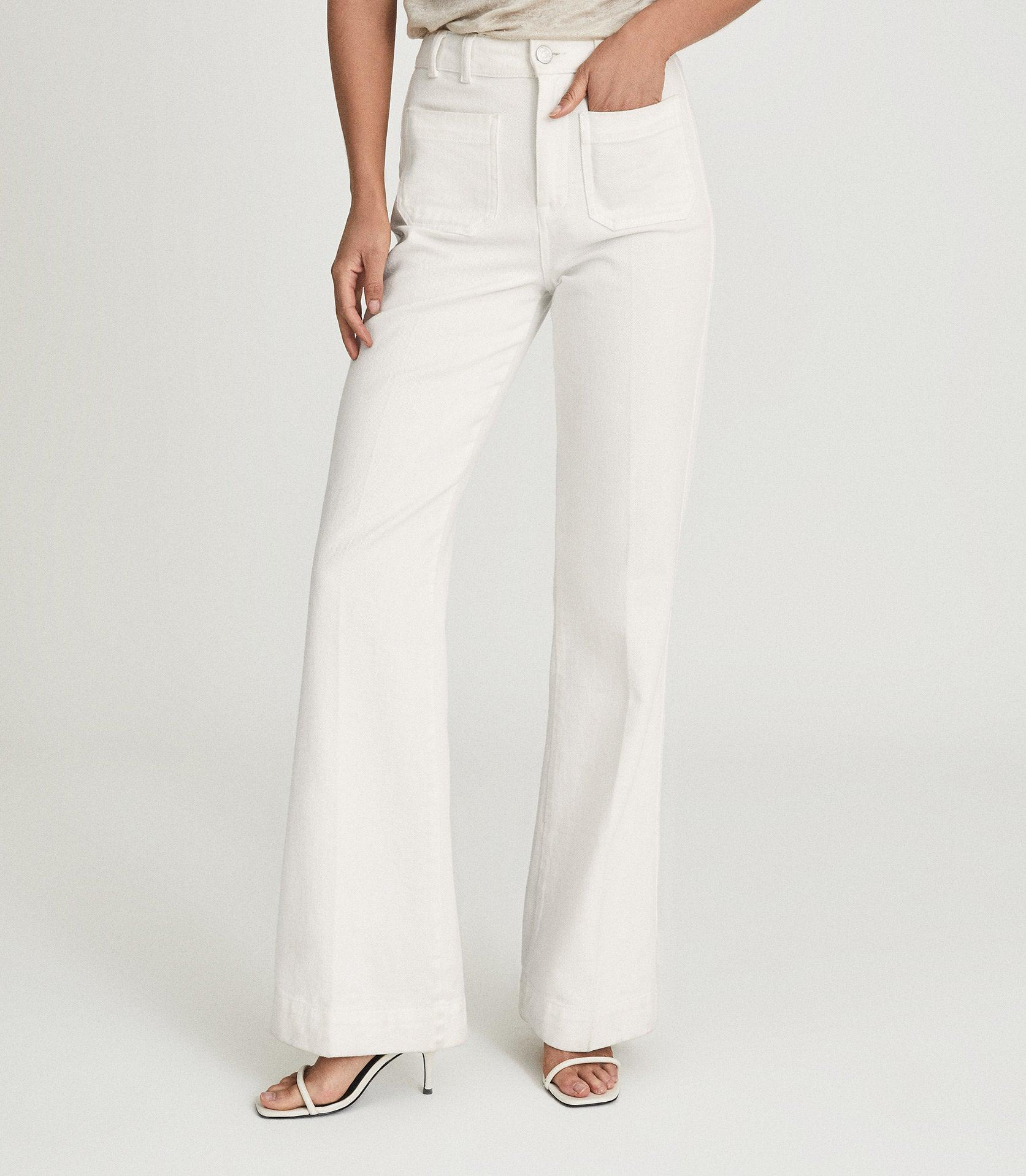 ISA - HIGH RISE FLARED JEANS 2