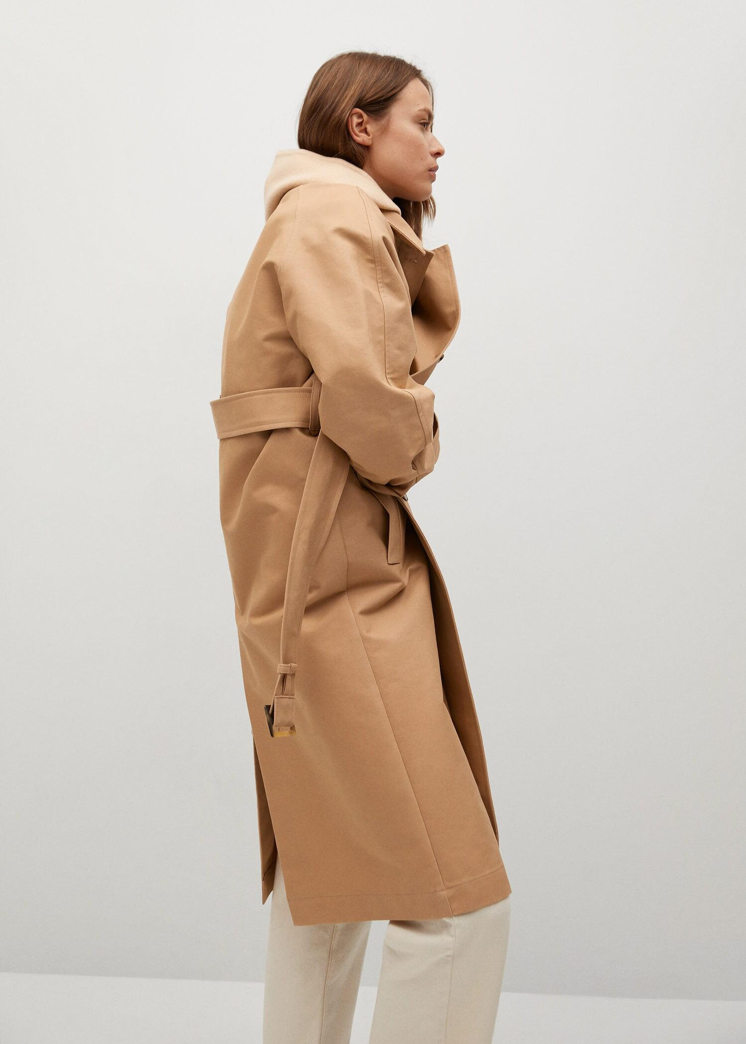 Water-repellent cotton trench 5