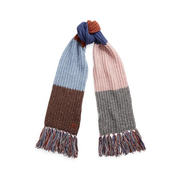 Knotted Fringe Ragg Scarf