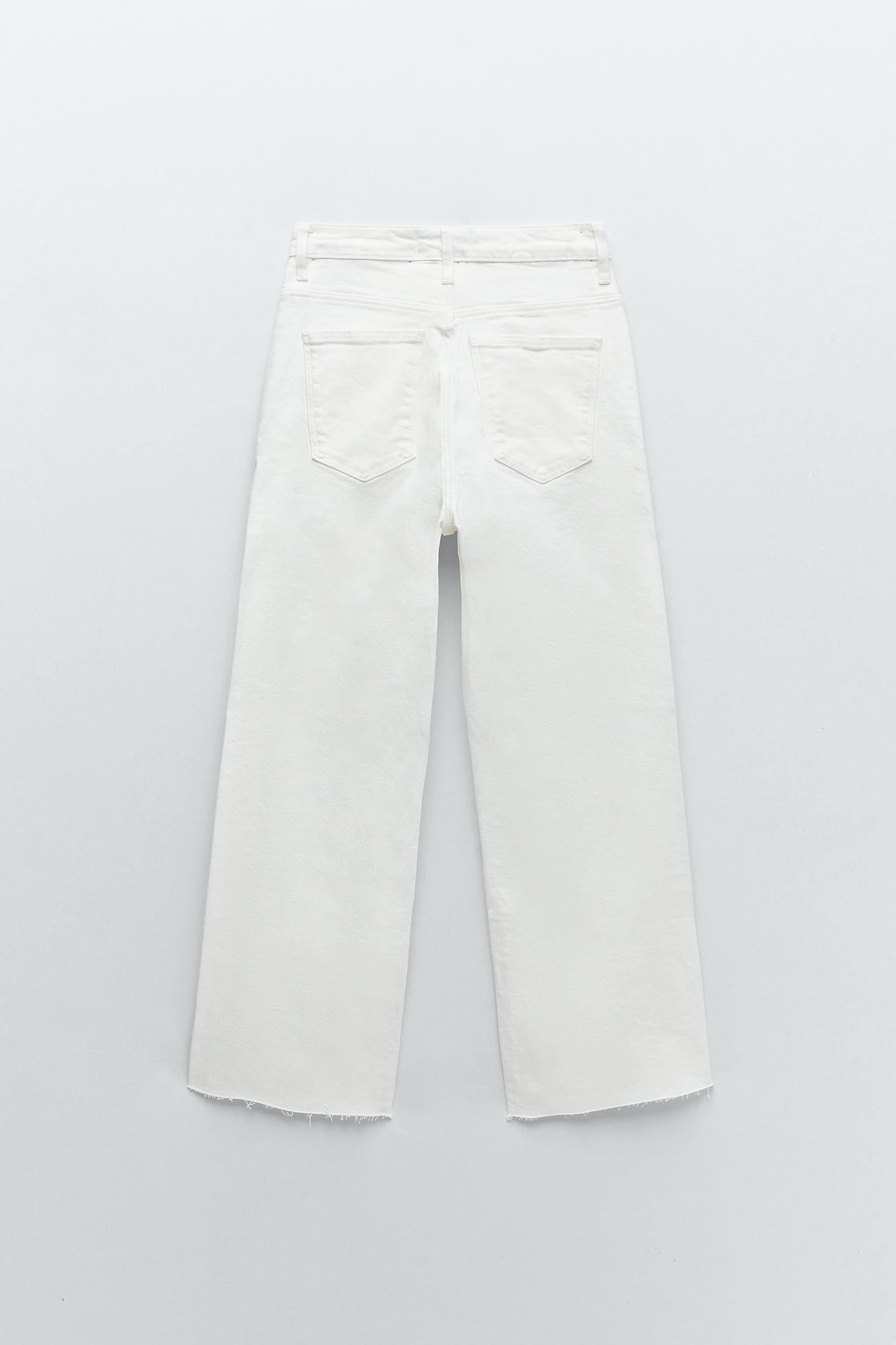 ZW THE HIGH WAIST CULOTTES JEANS 6