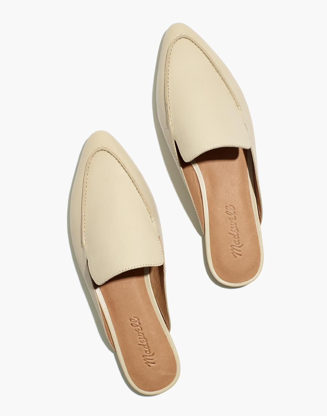 The Frances Skimmer Mule in Leather
