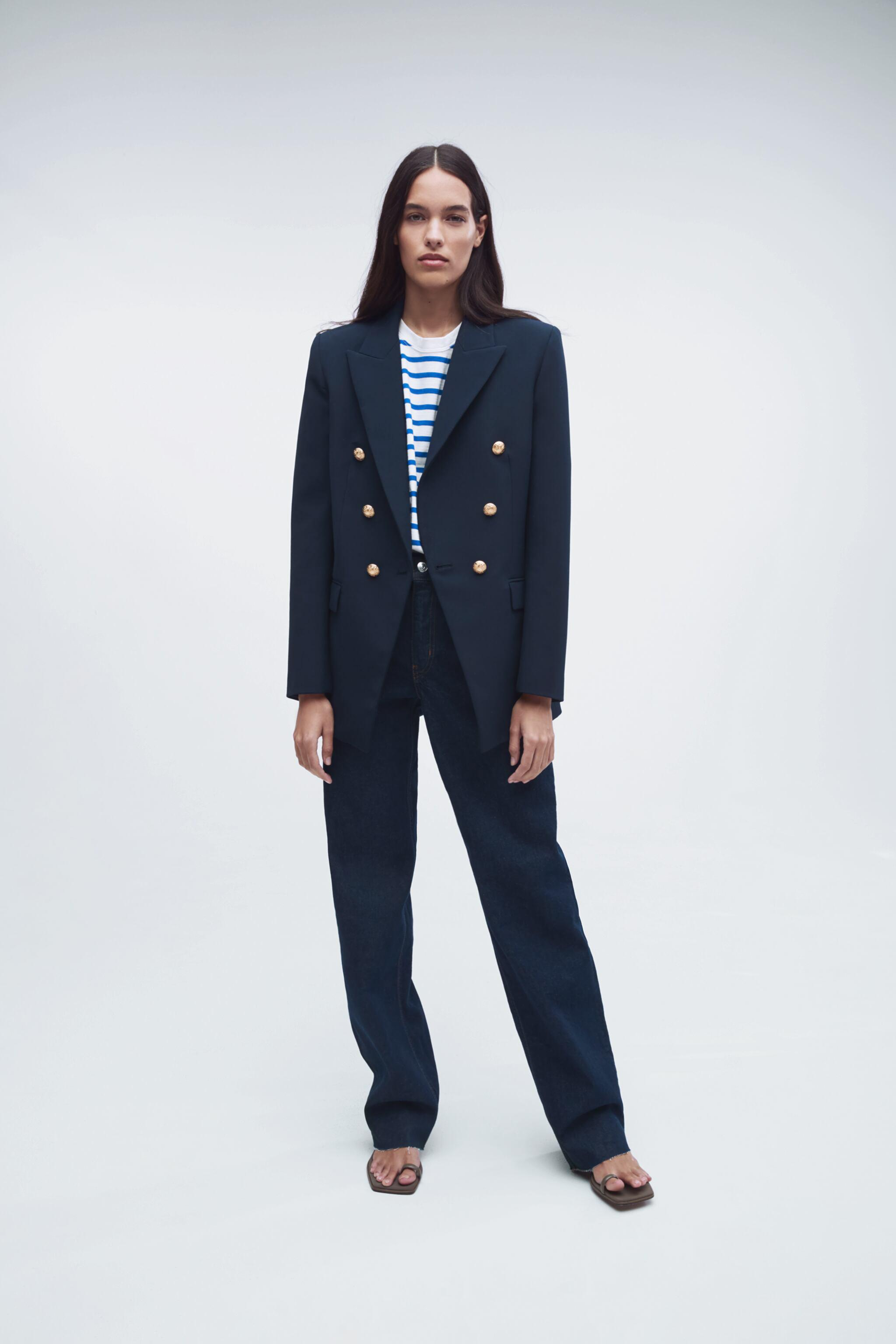 TAILORED BLAZER WITH BUTTONS 0